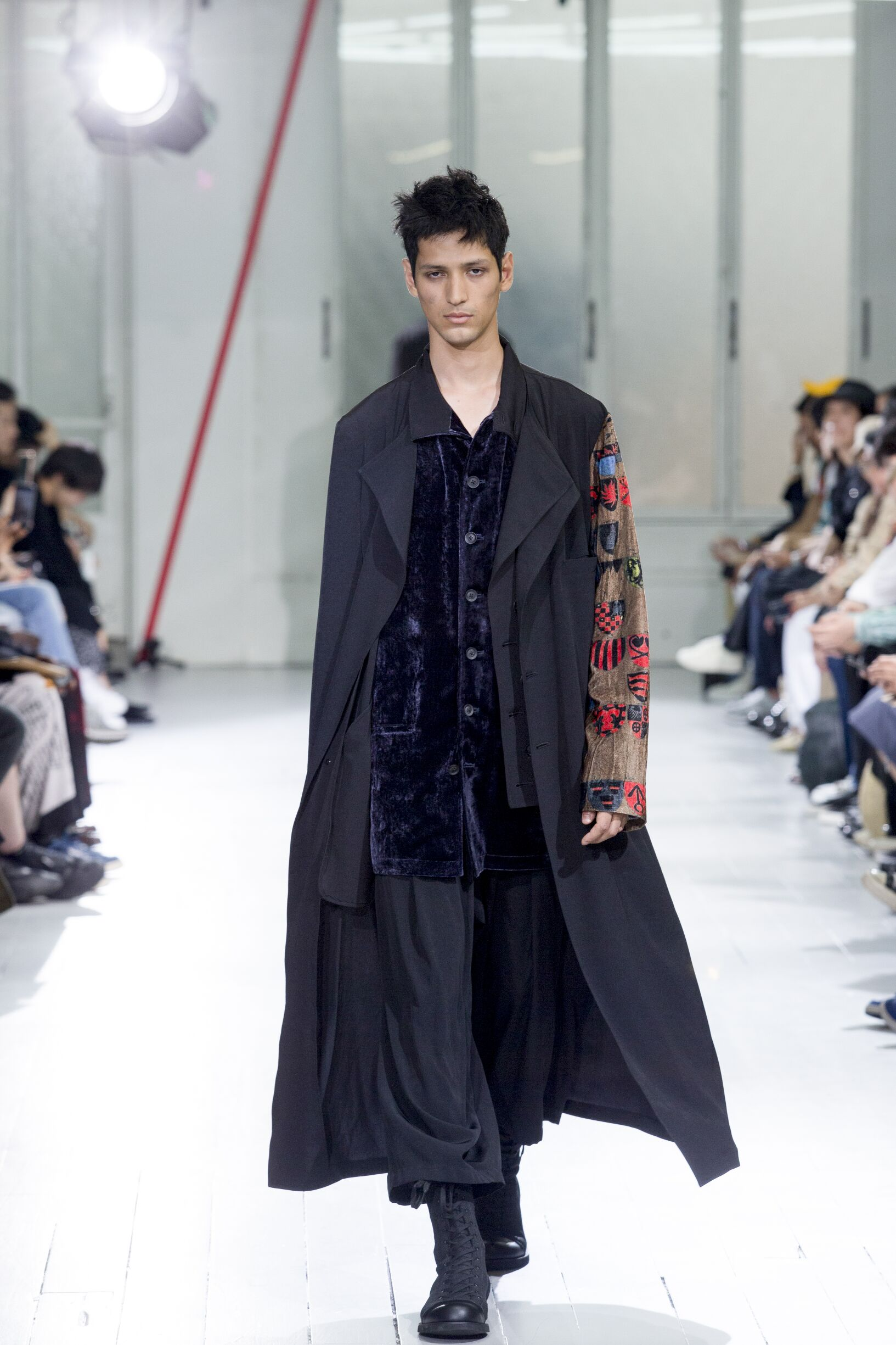 Spring Summer 2020 Man Paris Yohji Yamamoto Collection