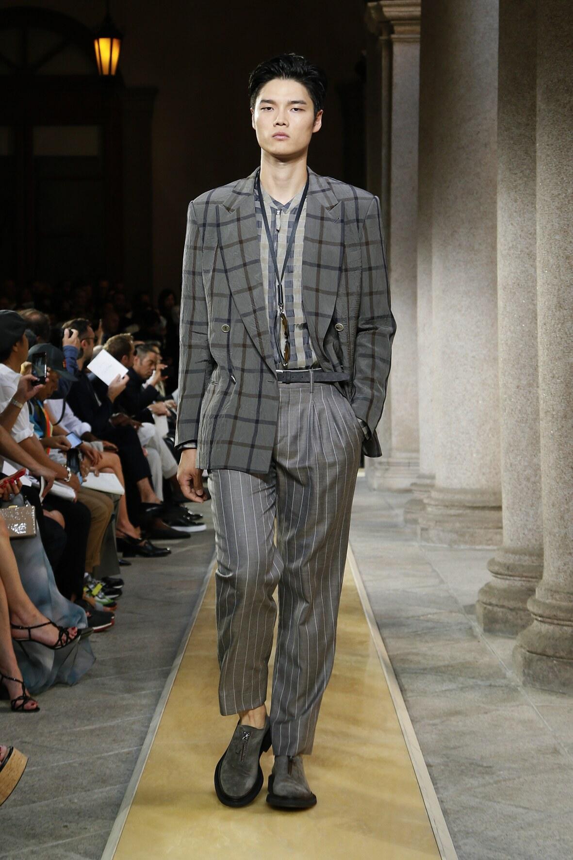 Summer 2020 Man Trends Giorgio Armani