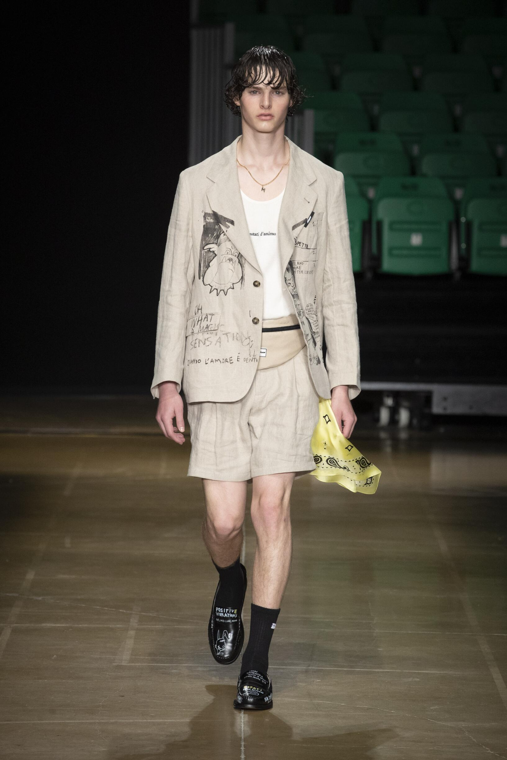 Summer 2020 Man Trends MSGM
