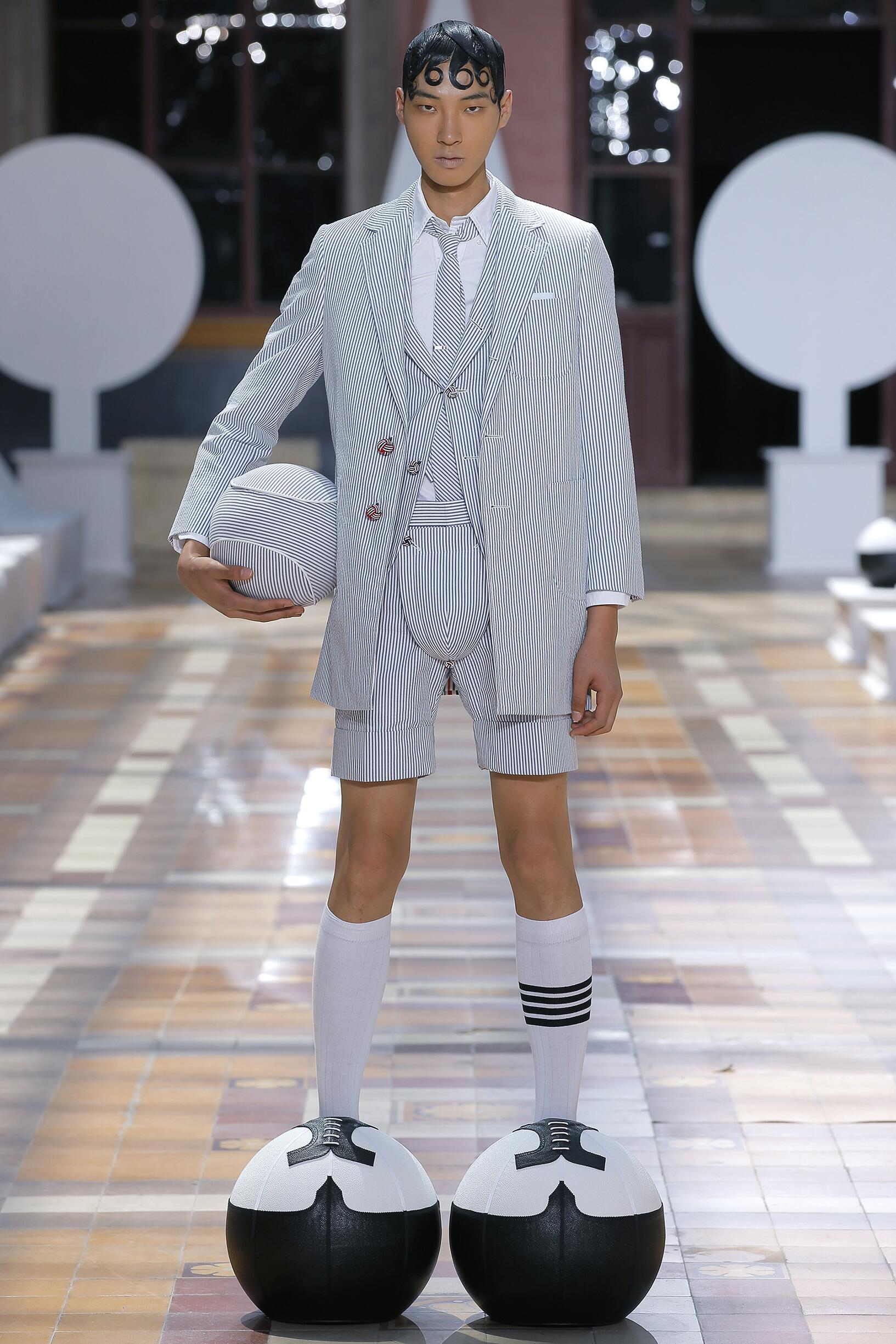 Summer 2020 Man Trends Thom Browne