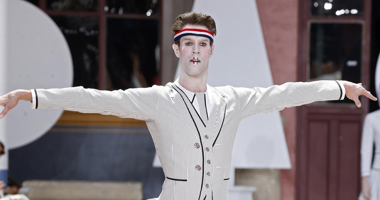 Thom Browne Fashion Show SS 2020 Paris
