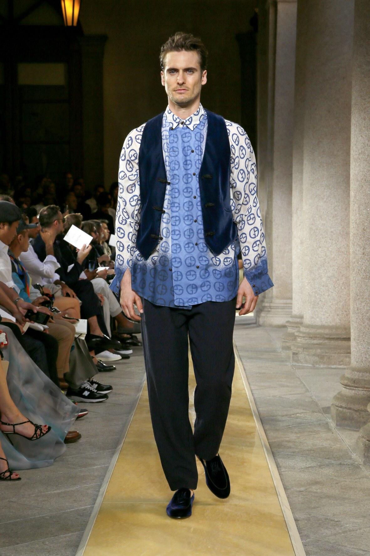 Trends Menswear Fashion 2020 Catwalk Giorgio Armani