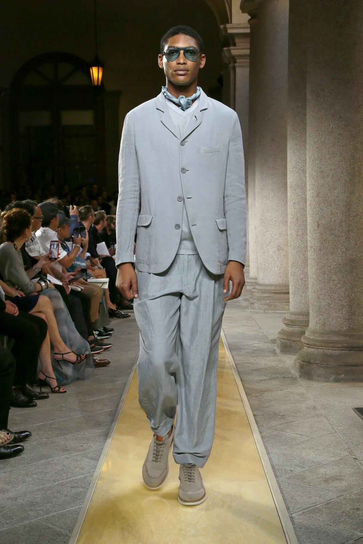 Trends Menswear SS Giorgio Armani 2020