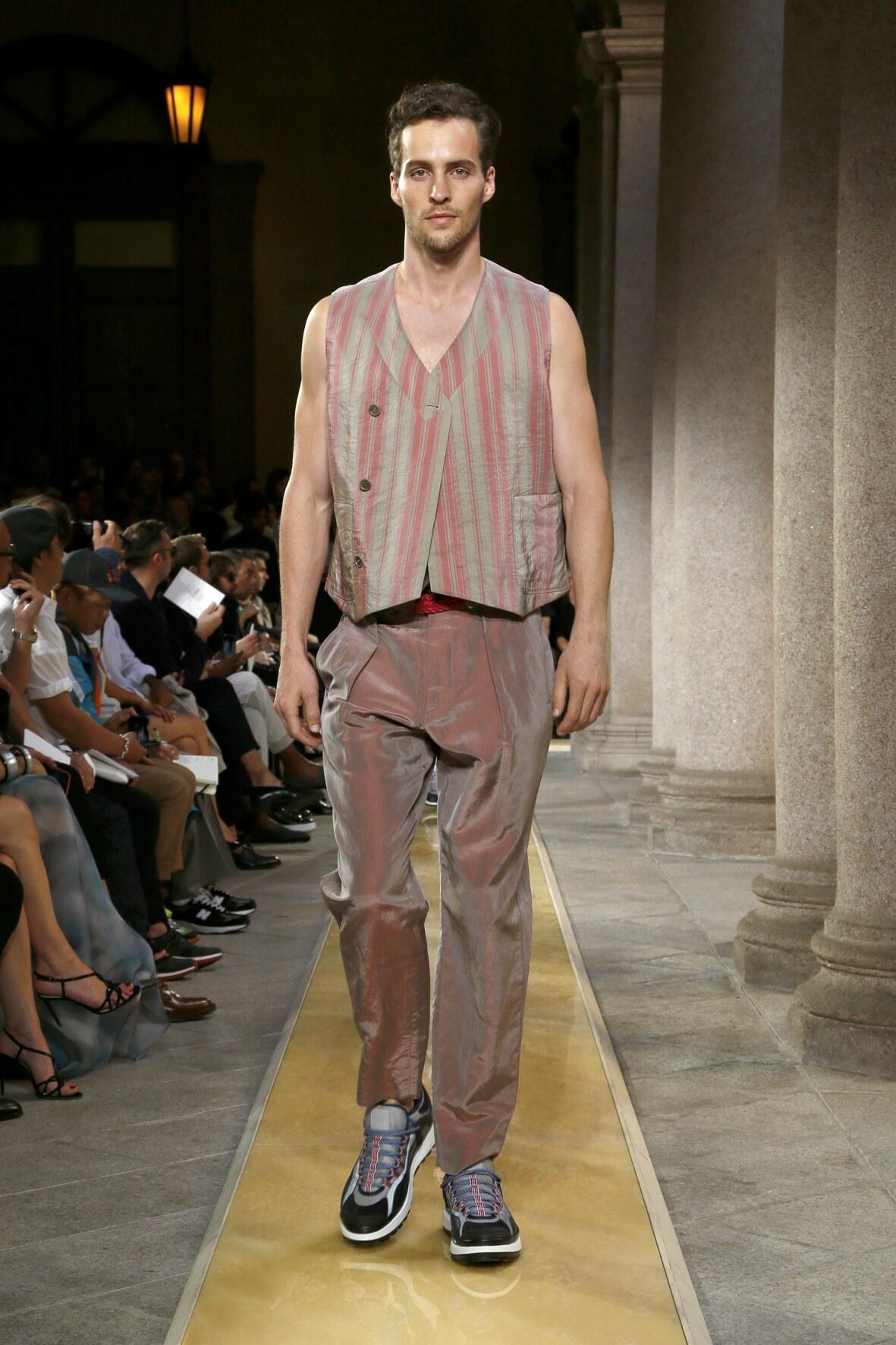 Trends Menswear Spring Summer Giorgio Armani 2020