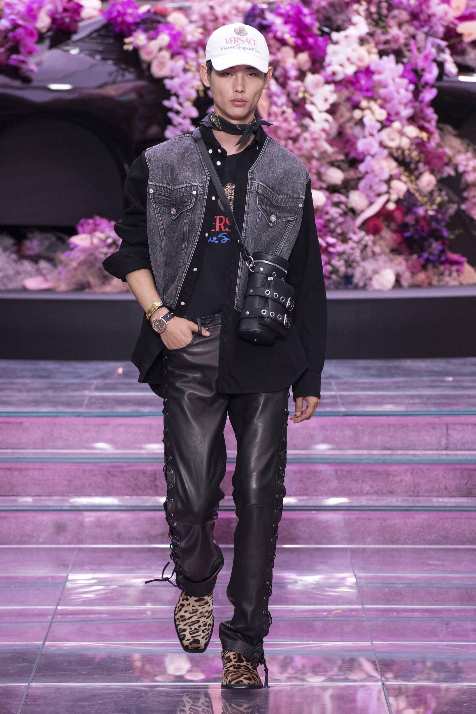 Versace Spring Summer 2020 Mens Collection Milan Fashion Week