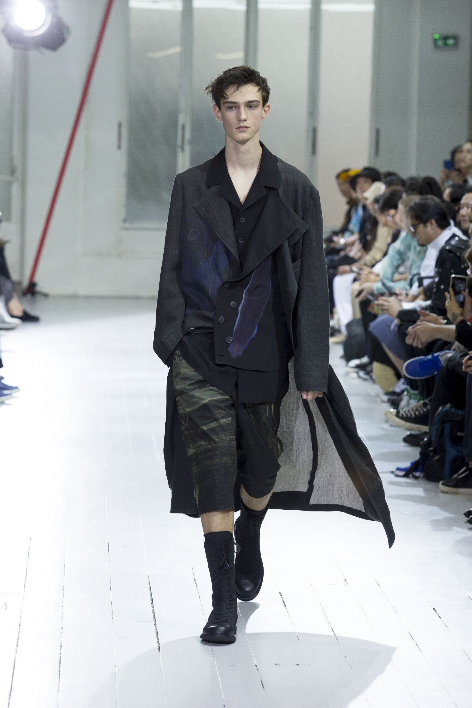 Yohji Yamamoto Fashion Show SS 2020