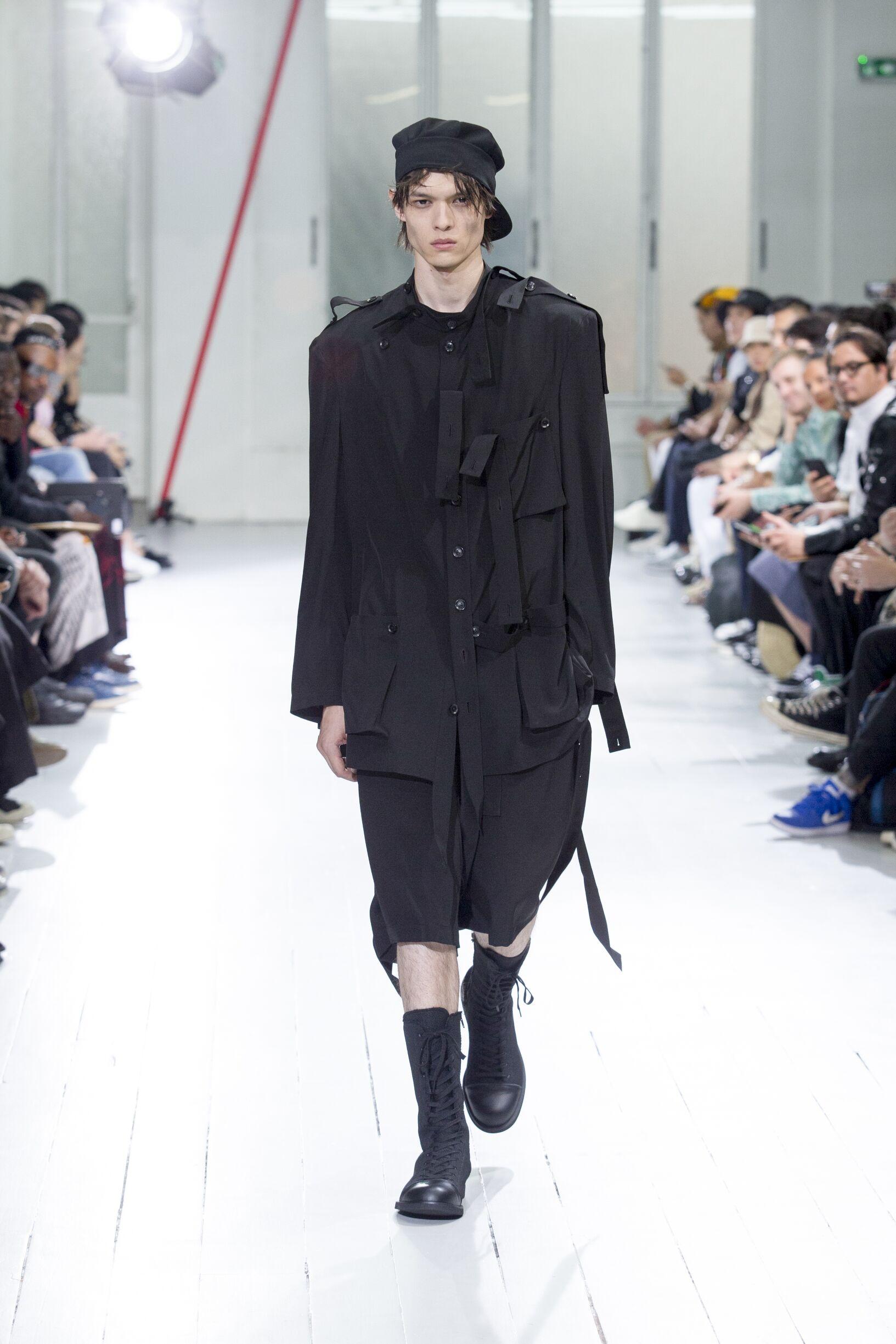 Yohji Yamamoto Men's Collection 2020