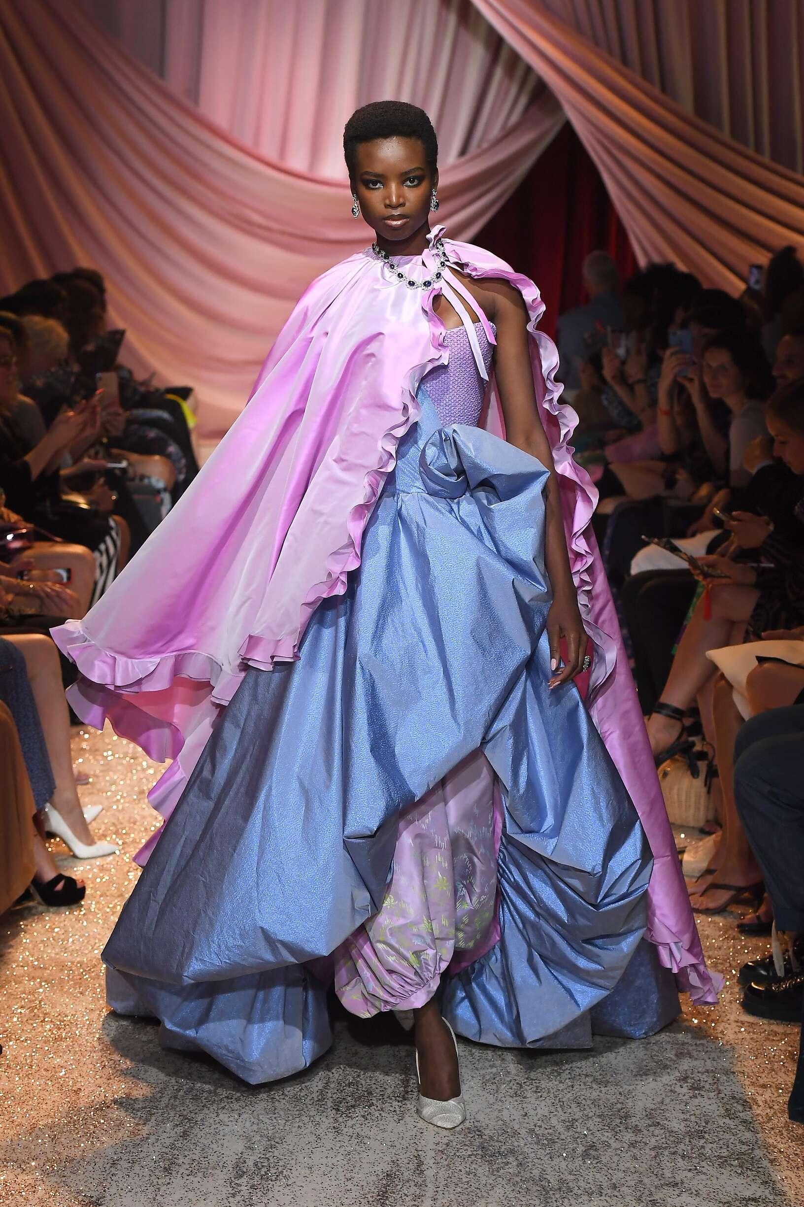 2019-20 Ulyana Sergeenko Haute Couture Fall Catwalk