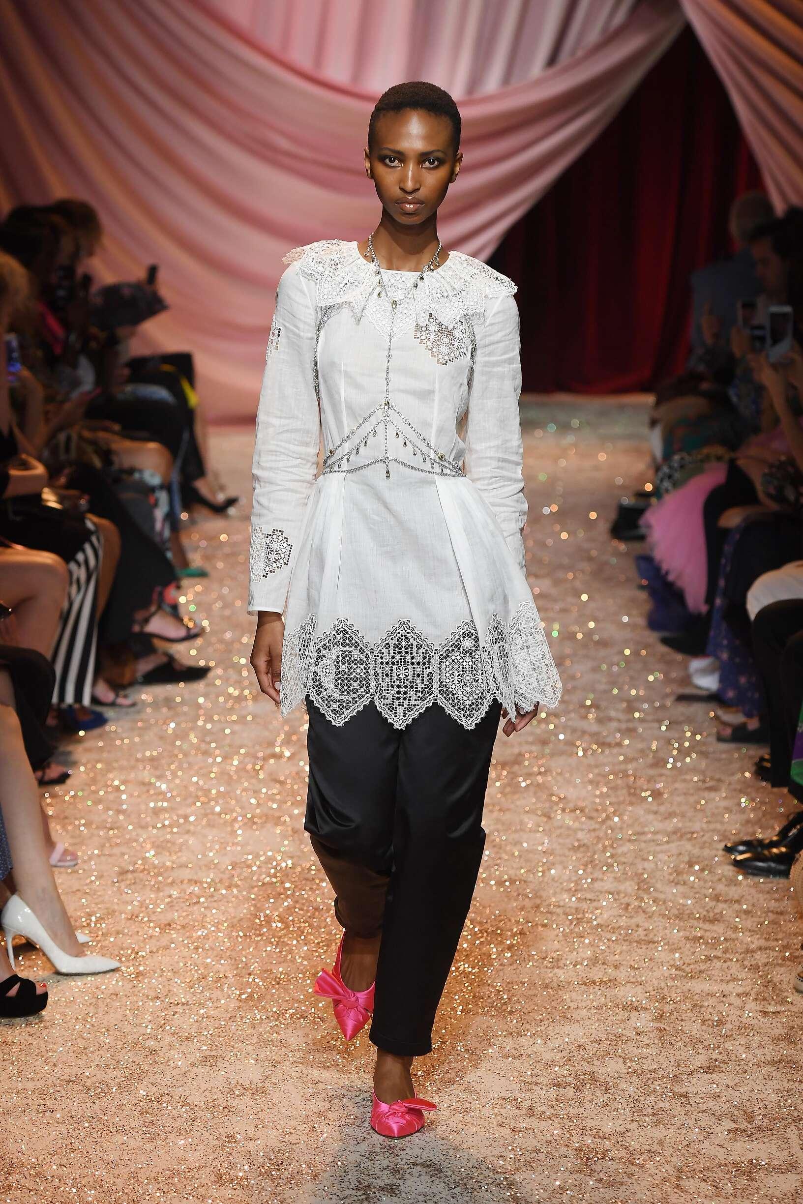 FW 2019-20 Fashion Show Ulyana Sergeenko Haute Couture