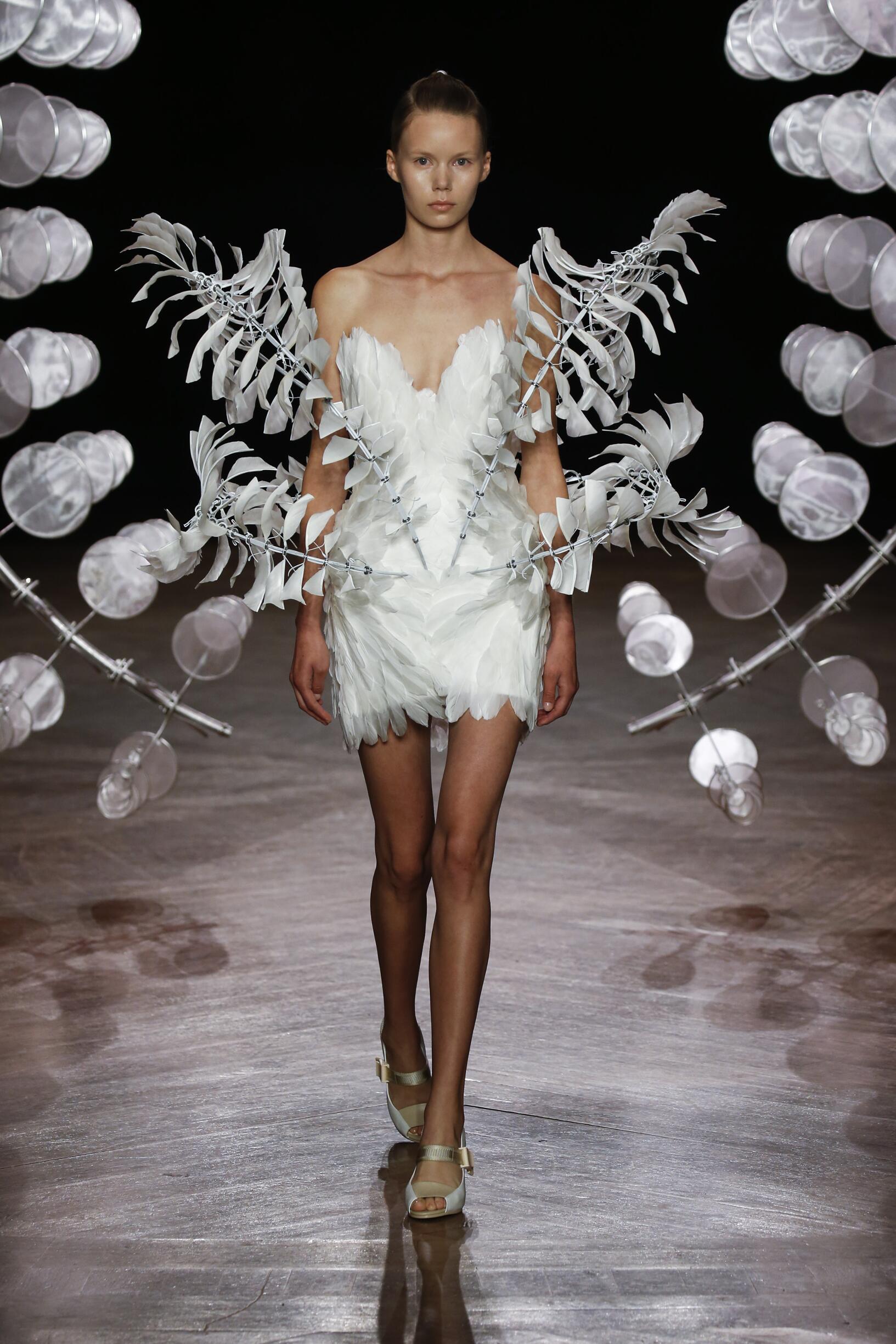 Iris van Herpen Haute Couture Paris Womenswear Trends