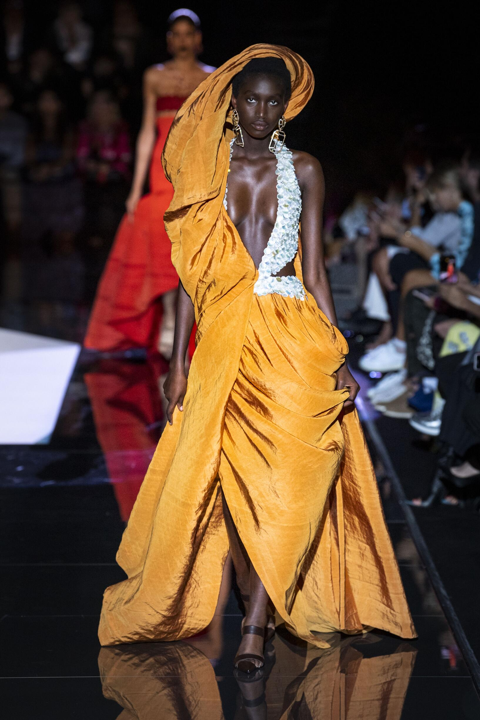 Schiaparelli Haute Couture Fall 2019-2020 Catwalk