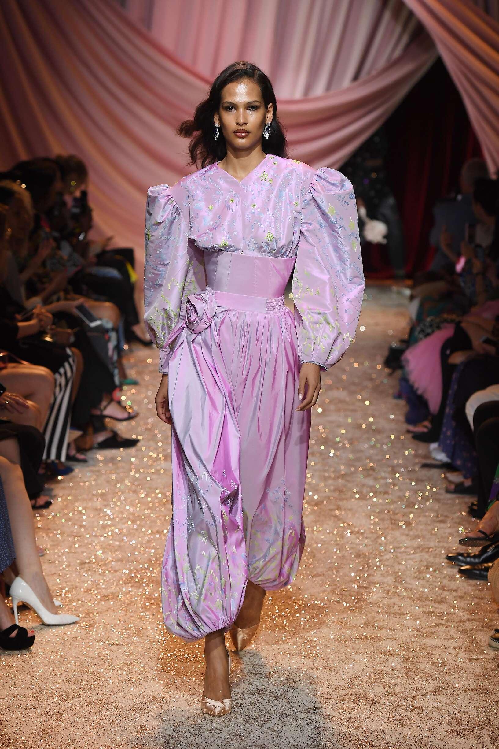 Ulyana Sergeenko Haute Couture Catwalk