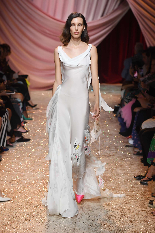 Ulyana Sergeenko Haute Couture Fall 2019-2020 Catwalk