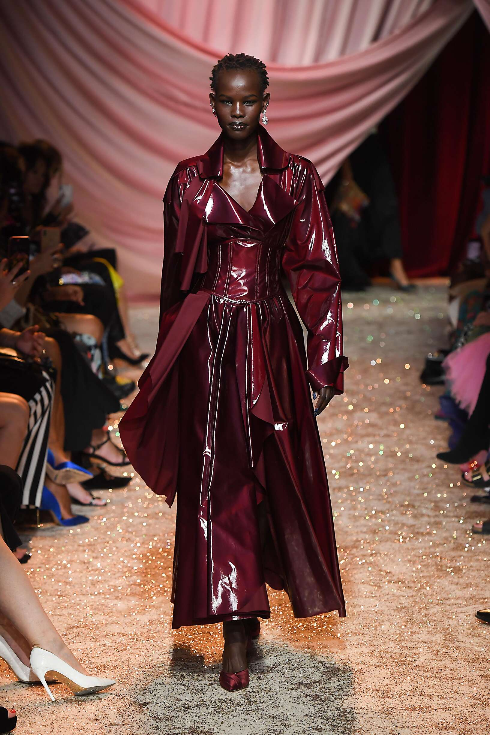 Ulyana Sergeenko Haute Couture Fashion Show FW 2019-2020