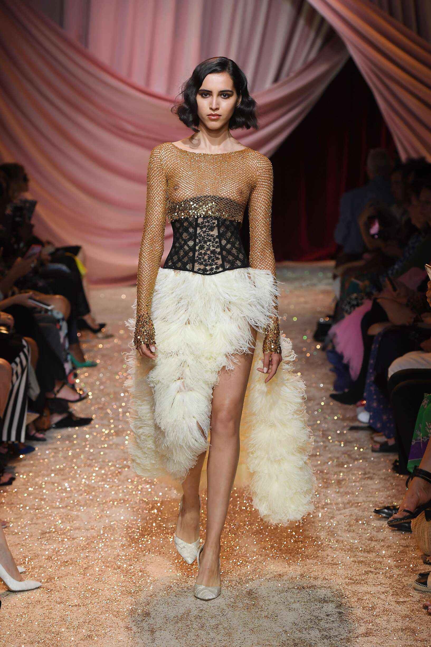 Ulyana Sergeenko Haute Couture Paris Womenswear Trends