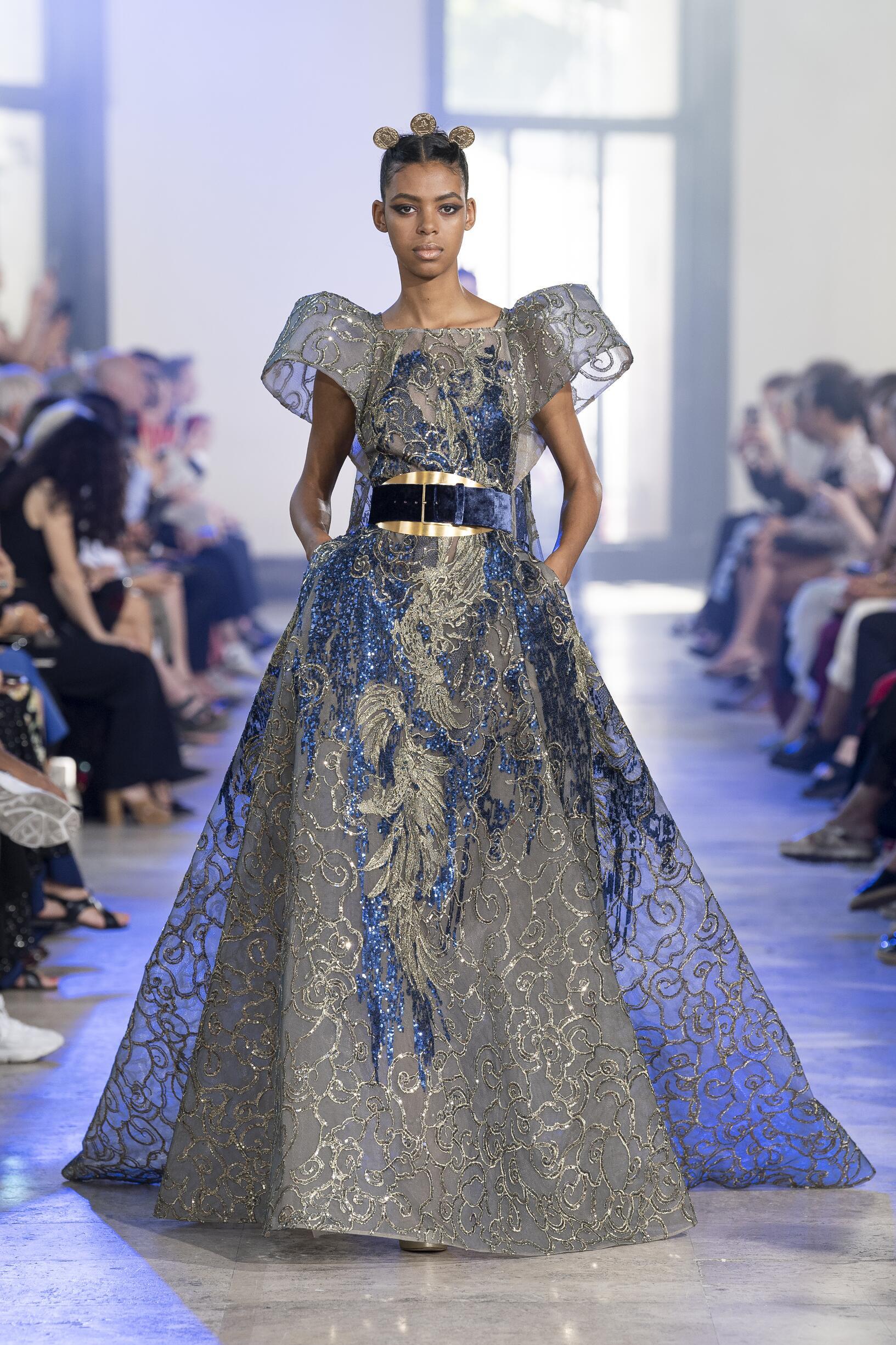 2019-20 Catwalk Elie Saab Haute Couture Woman Fashion Show Winter