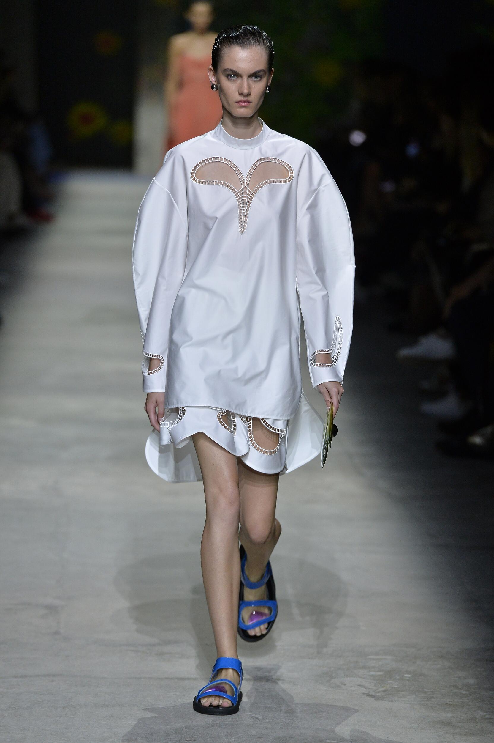2020 Catwalk Christopher Kane Fashion Show Summer