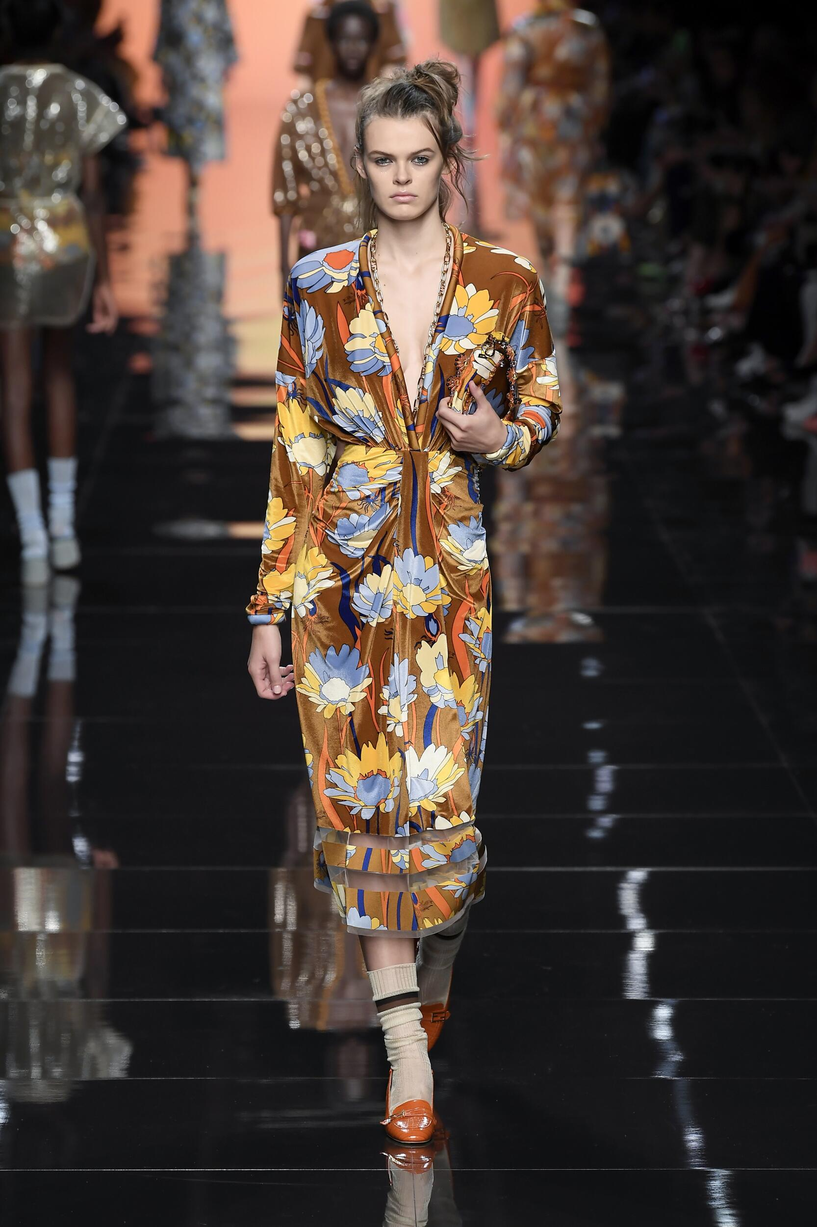 2020 Catwalk Fendi Fashion Show Summer