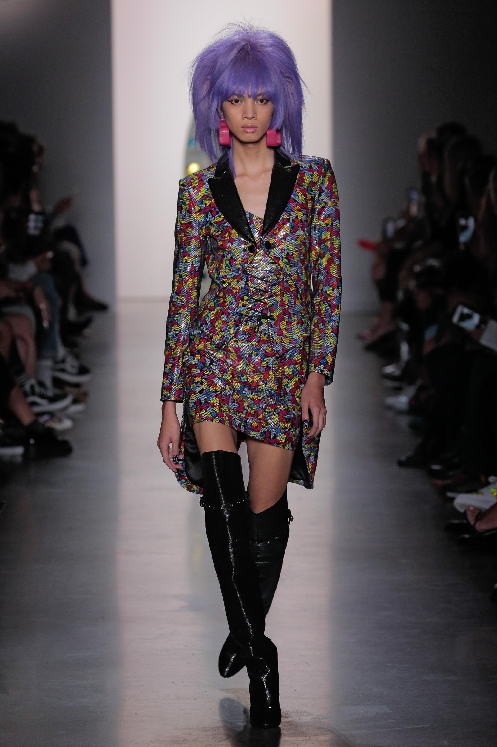 2020 Catwalk Jeremy Scott Fashion Show Summer