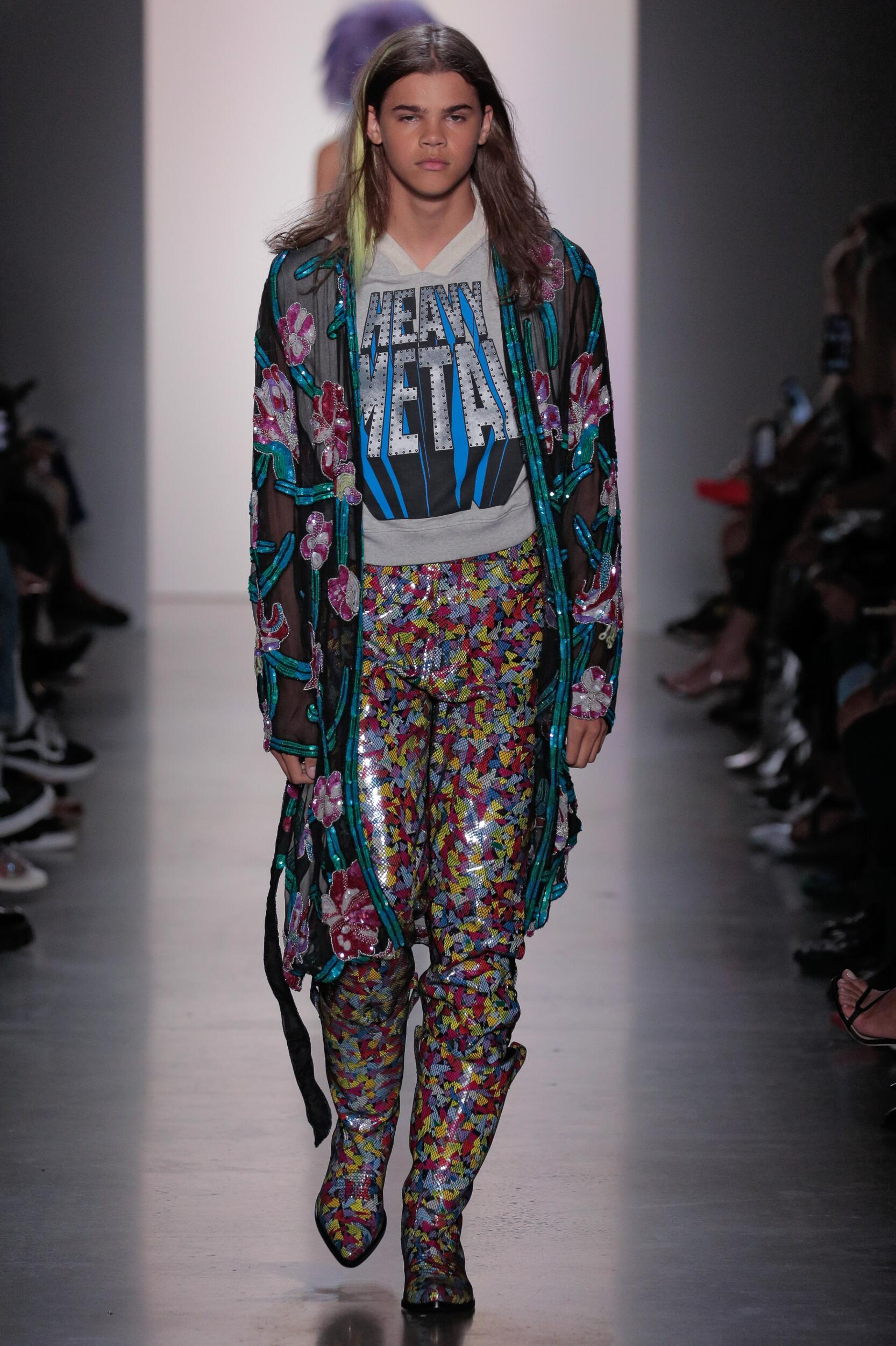 2020 Catwalk Jeremy Scott Summer Man Collection