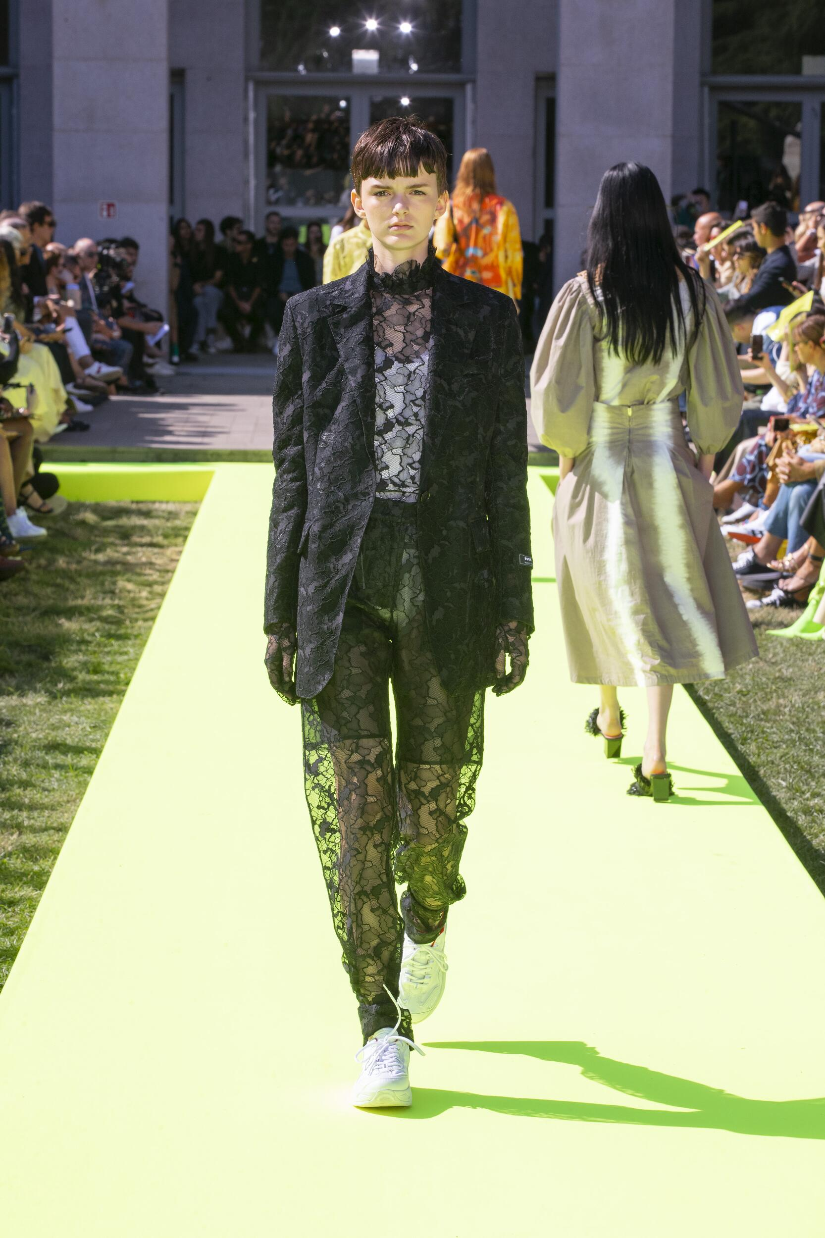 2020 Catwalk Msgm Fashion Show Summer