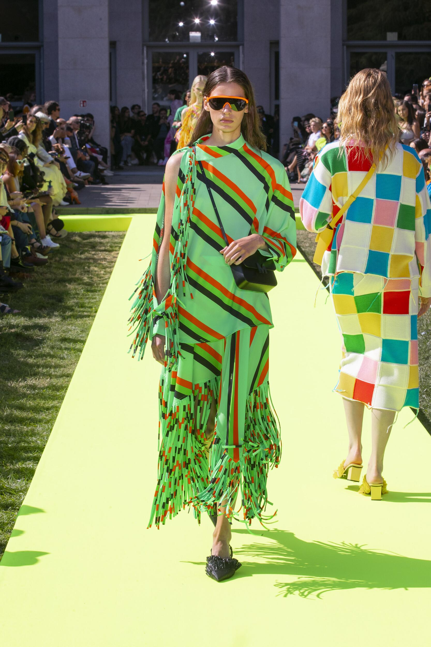 2020 Catwalk Msgm Summer Woman Collection