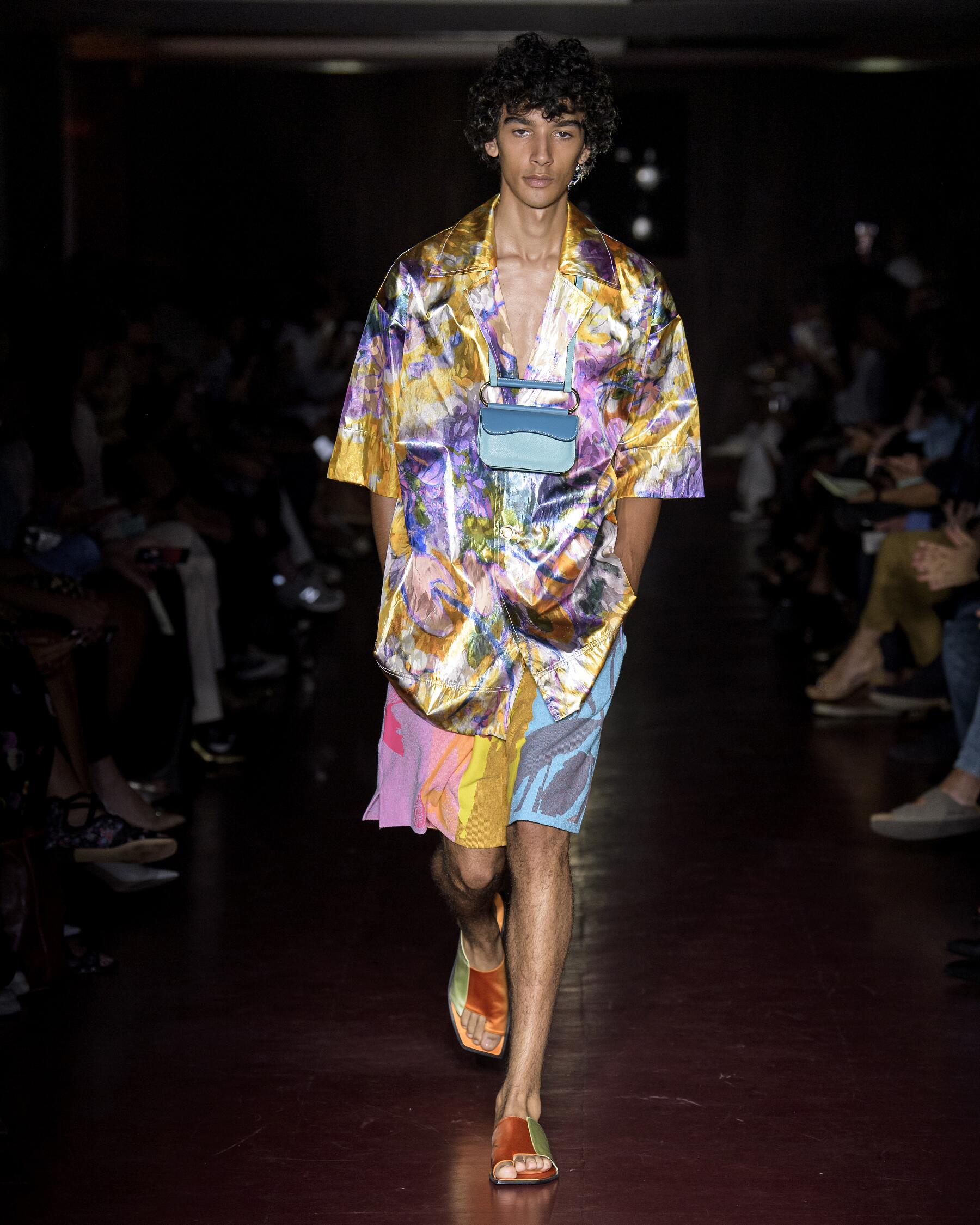 2020 Catwalk Peter Pilotto Fashion Show Summer