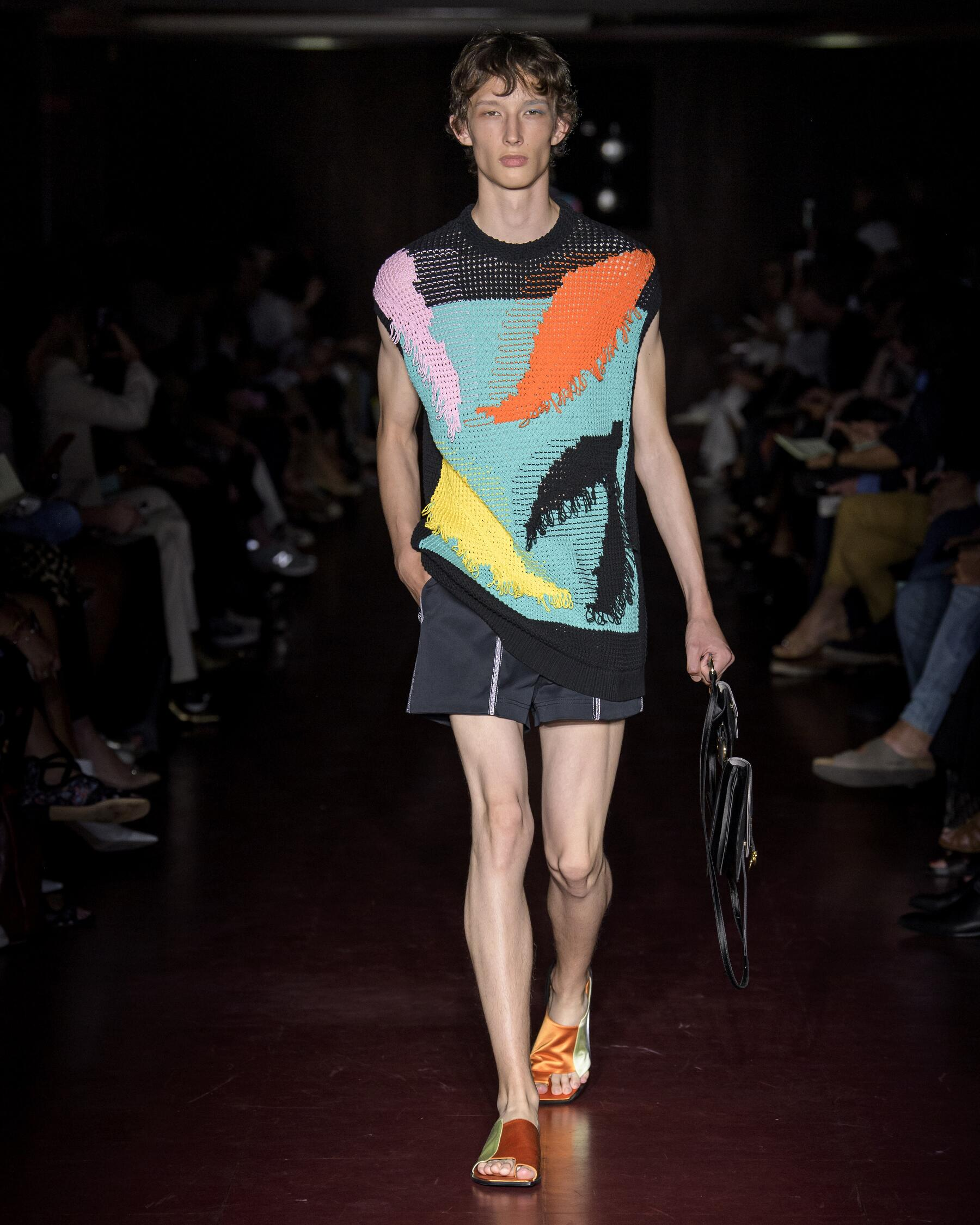2020 Catwalk Peter Pilotto Summer Man Collection
