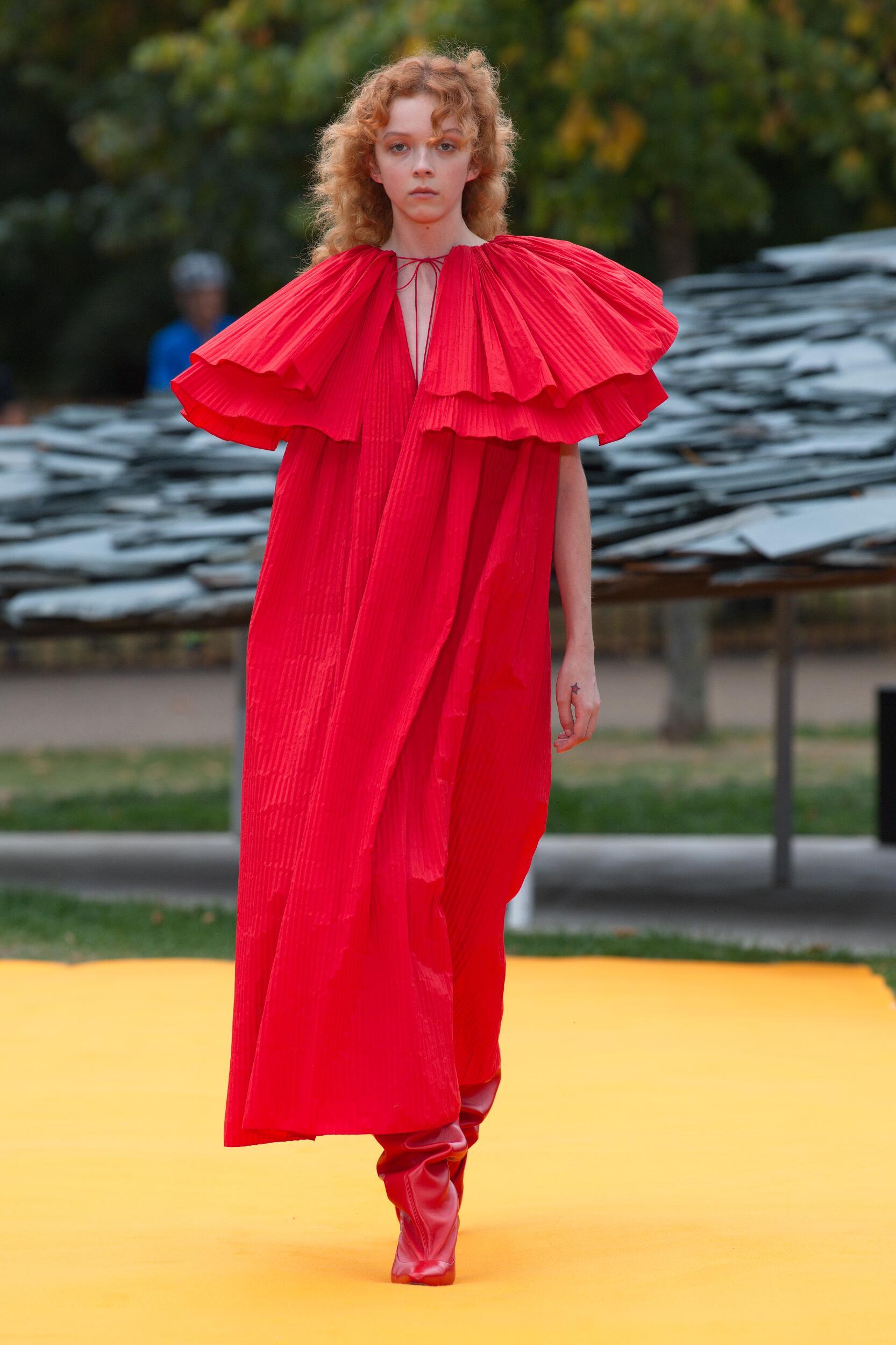 2020 Catwalk Roksanda Summer Woman Collection