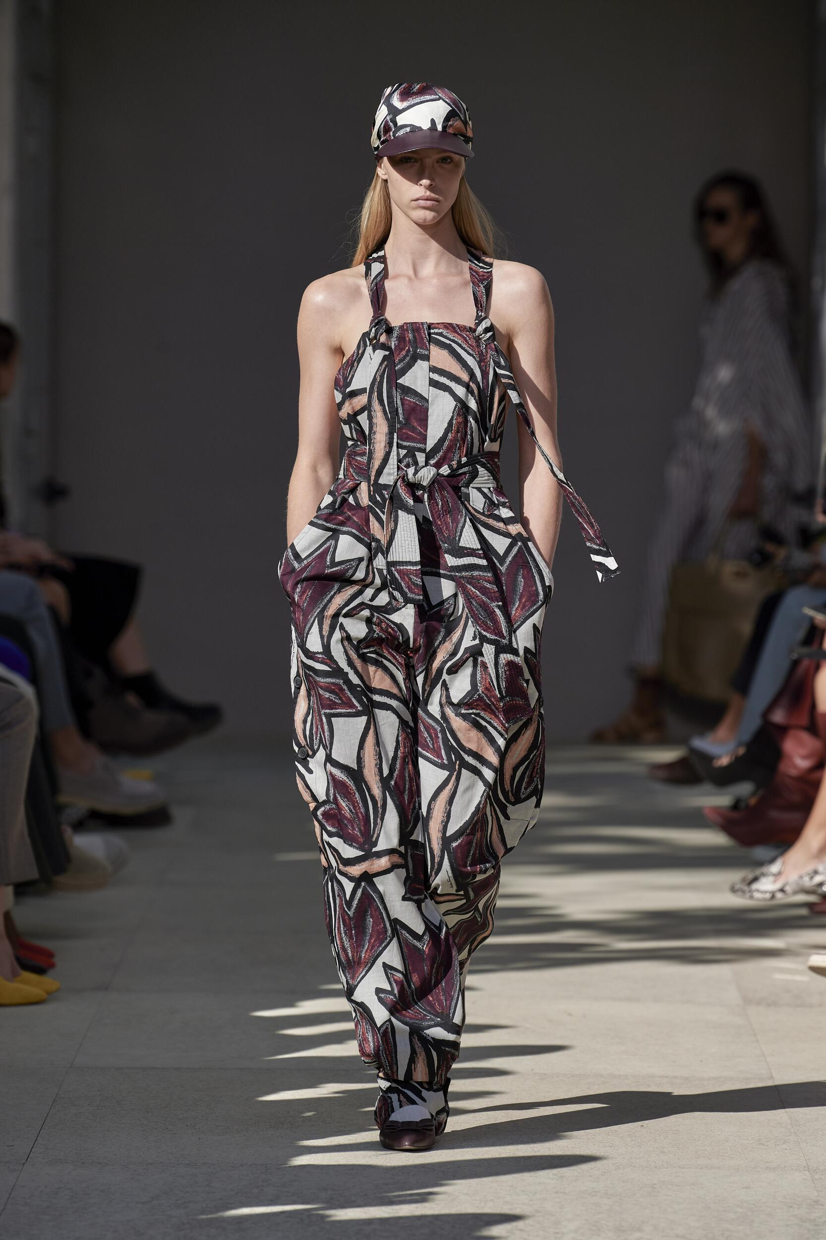 2020 Catwalk Salvatore Ferragamo Fashion Show Summer