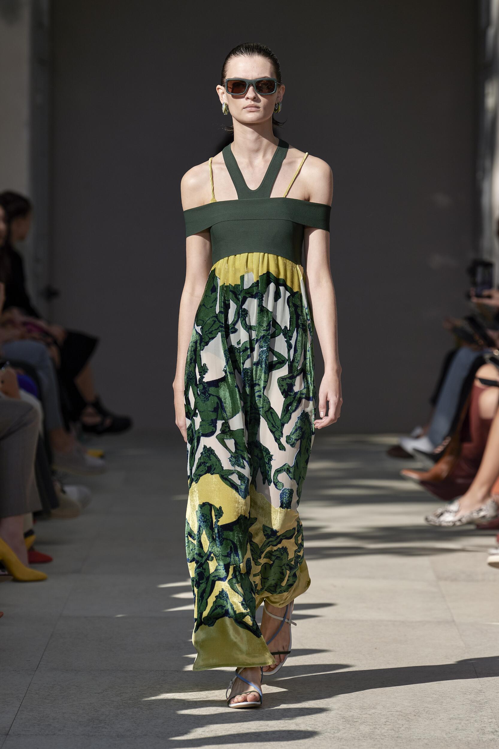 2020 Catwalk Salvatore Ferragamo Summer Woman Collection
