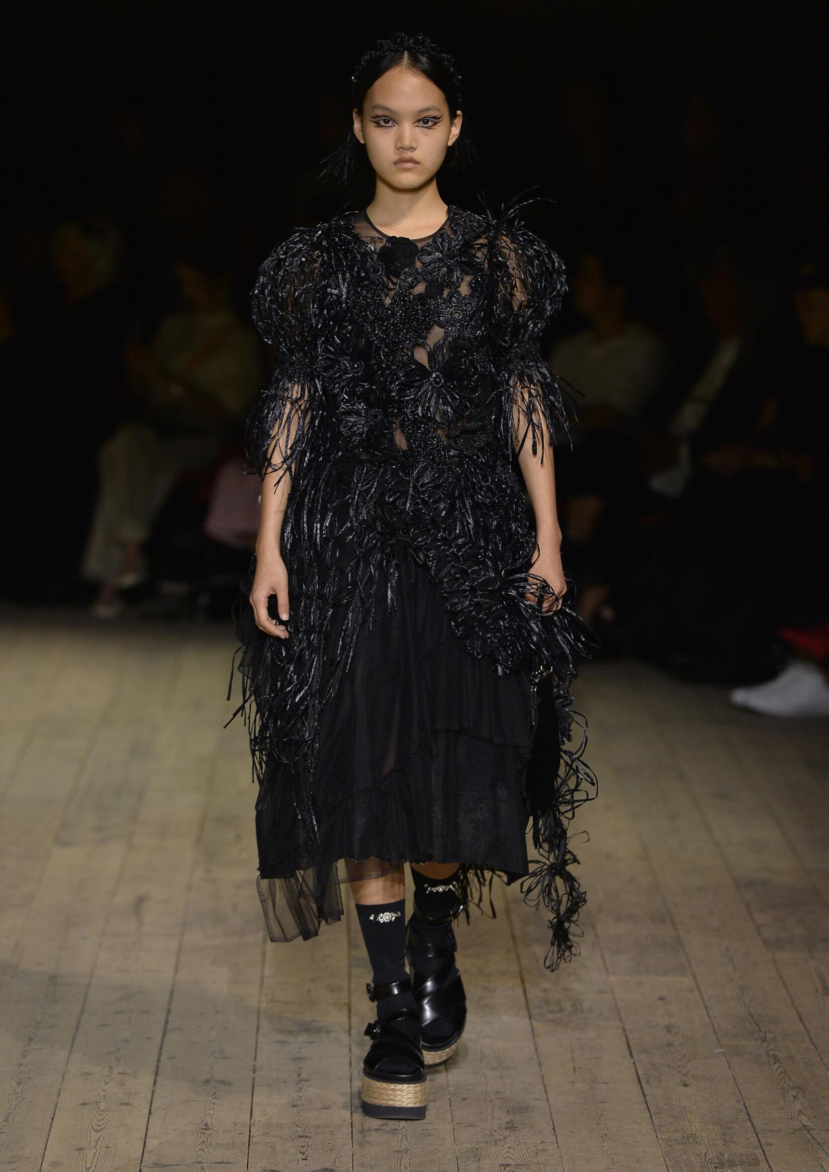 2020 Catwalk Simone Rocha Fashion Show Summer
