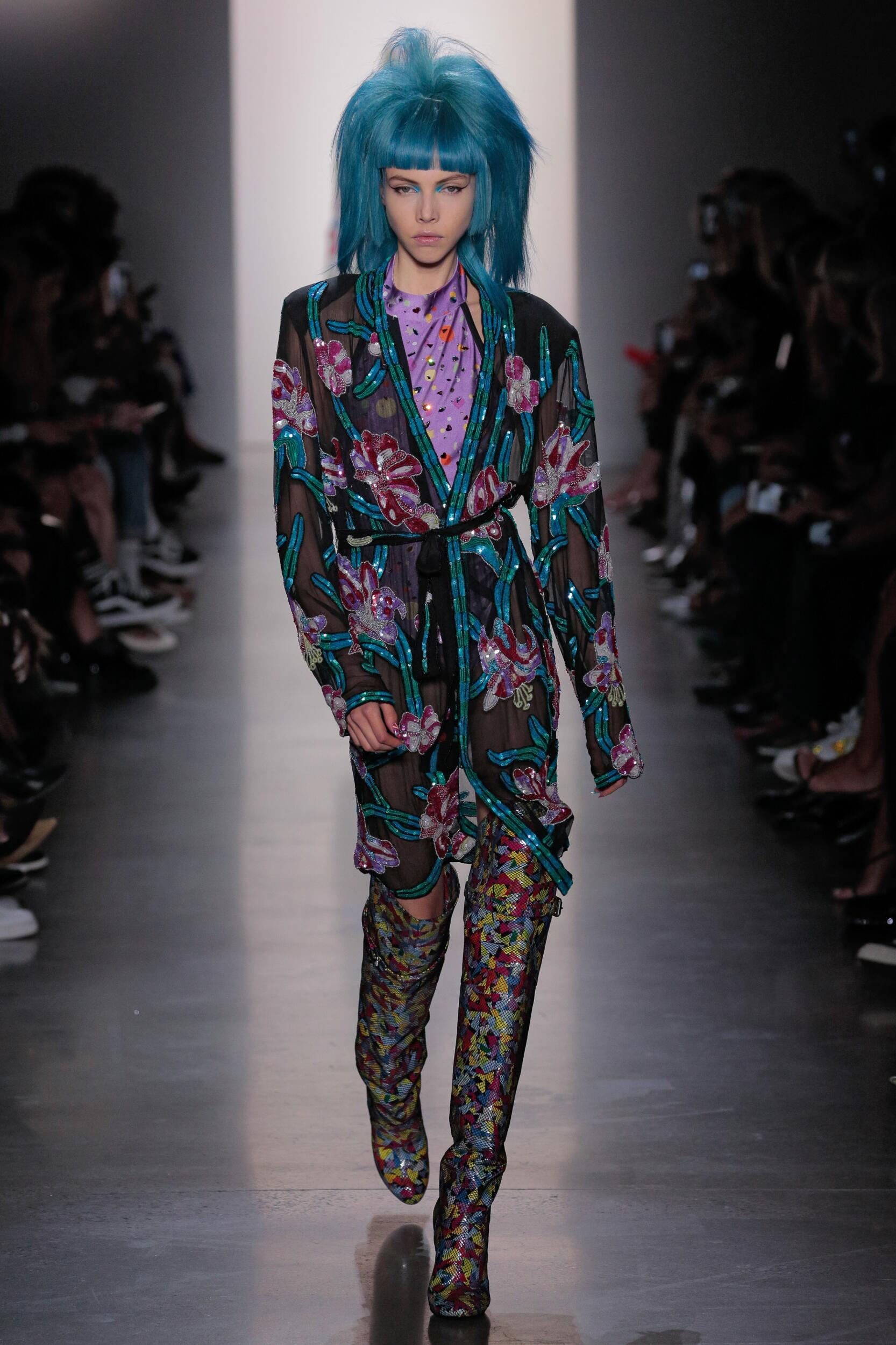 2020 Jeremy Scott Spring Catwalk