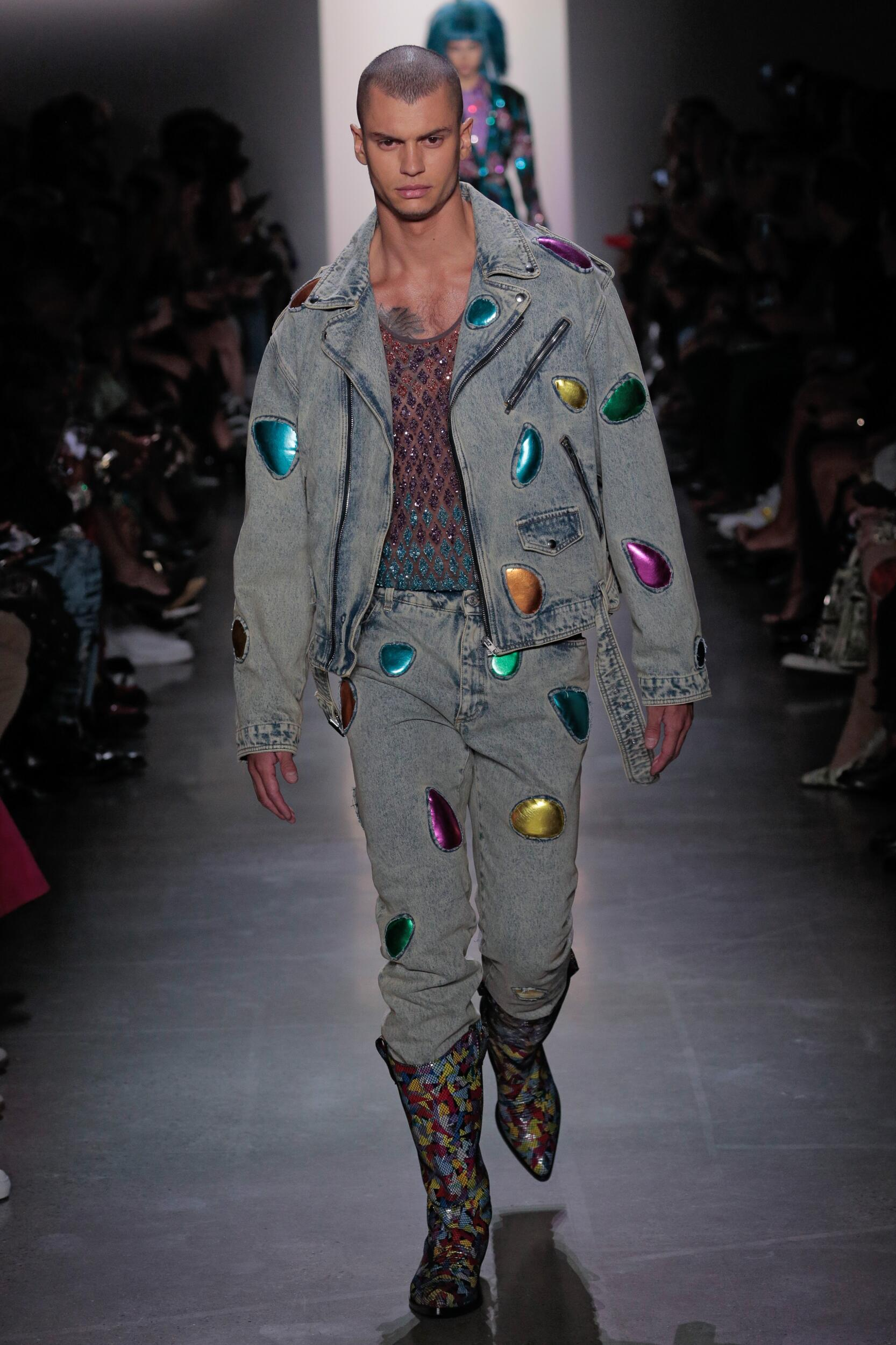 2020 Jeremy Scott Spring Summer Man