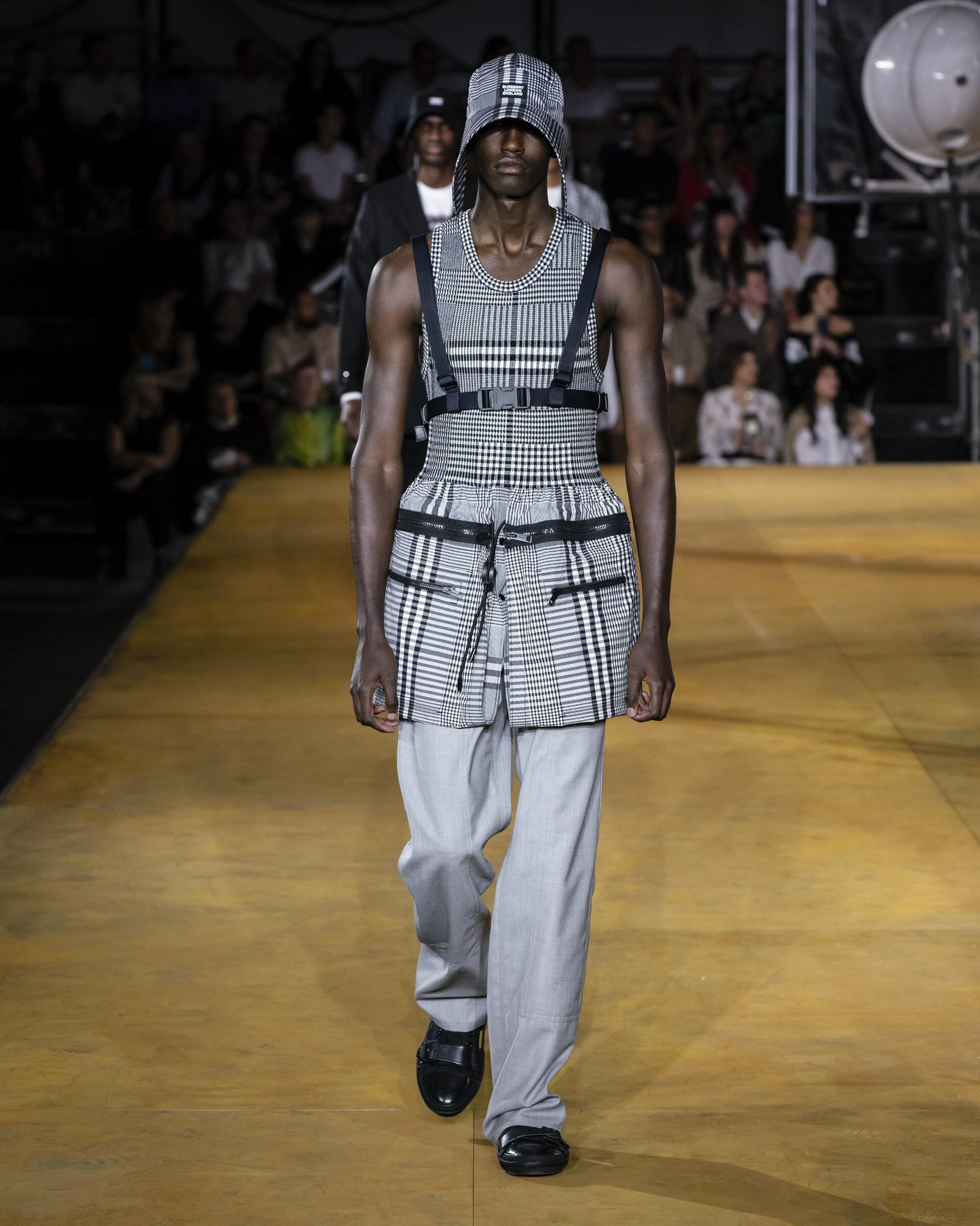 2020 Man Burberry Trends London Fashion Week