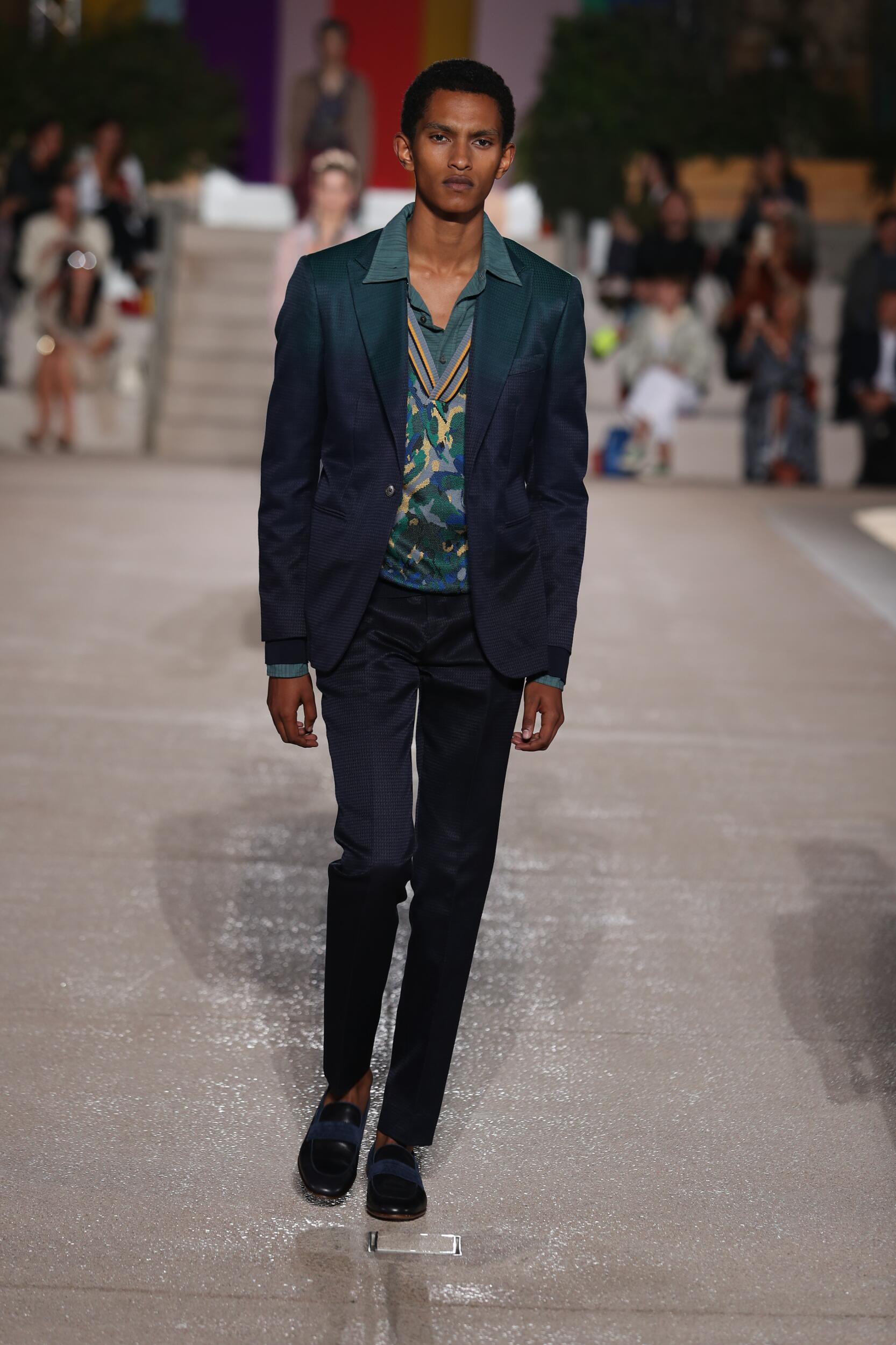2020 Man Catwalk Missoni Summer