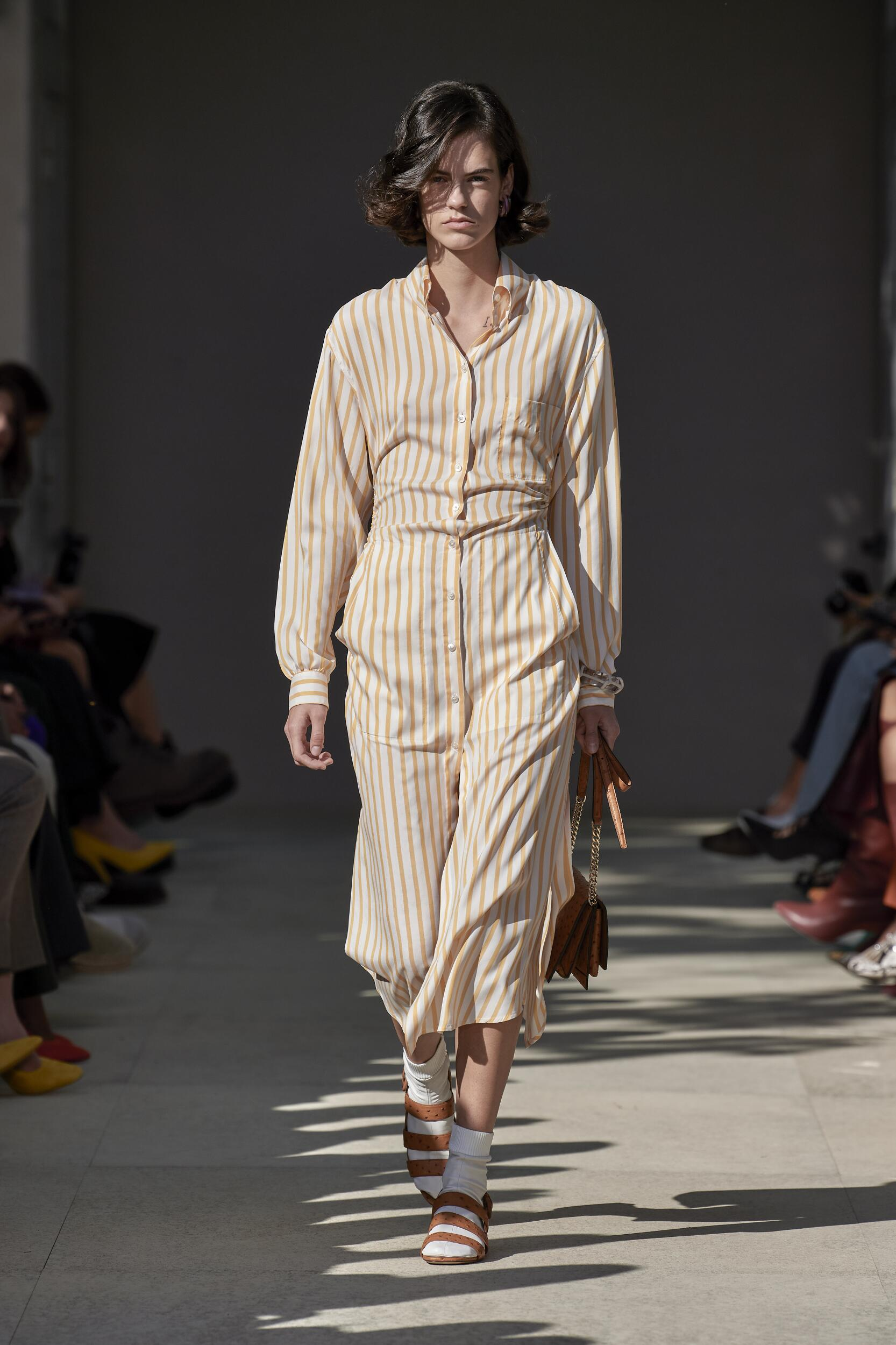 2020 Runway Woman Salvatore Ferragamo Summer