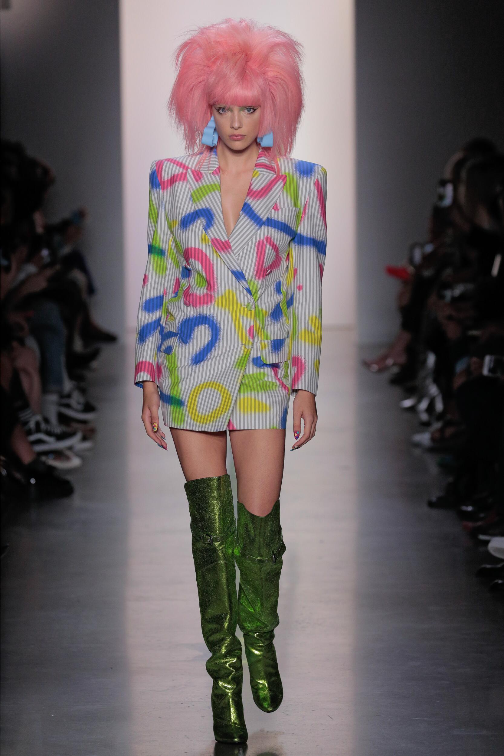 2020 Woman Style Jeremy Scott