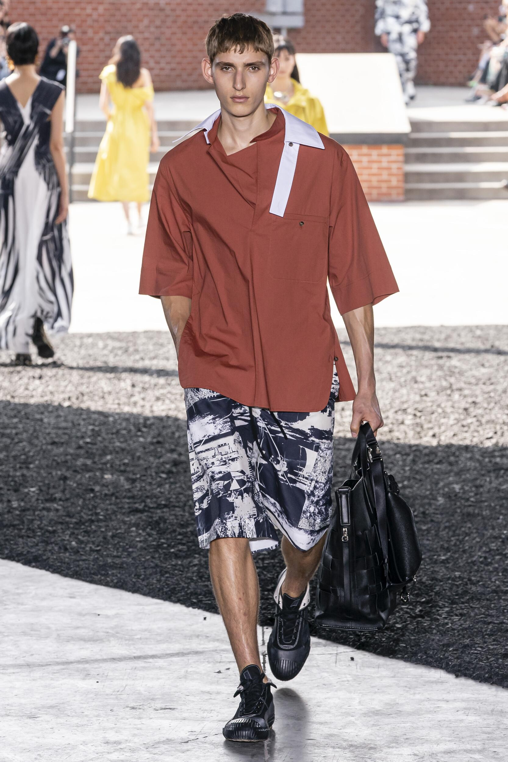 3.1 Phillip Lim Man Catwalk