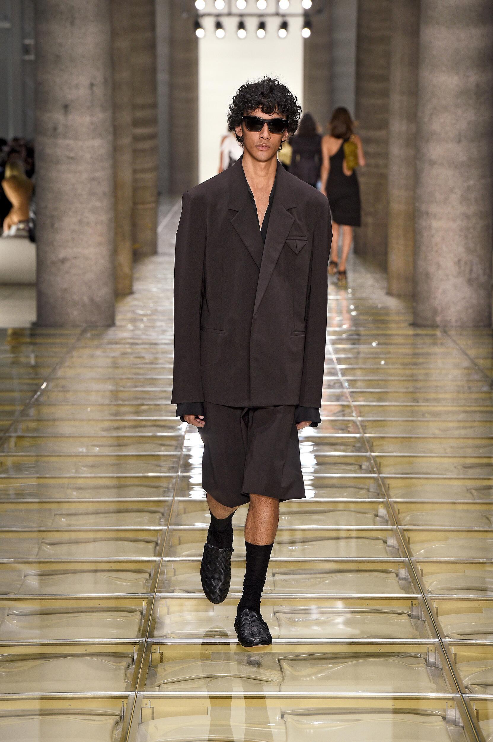 Bottega Veneta Man Catwalk