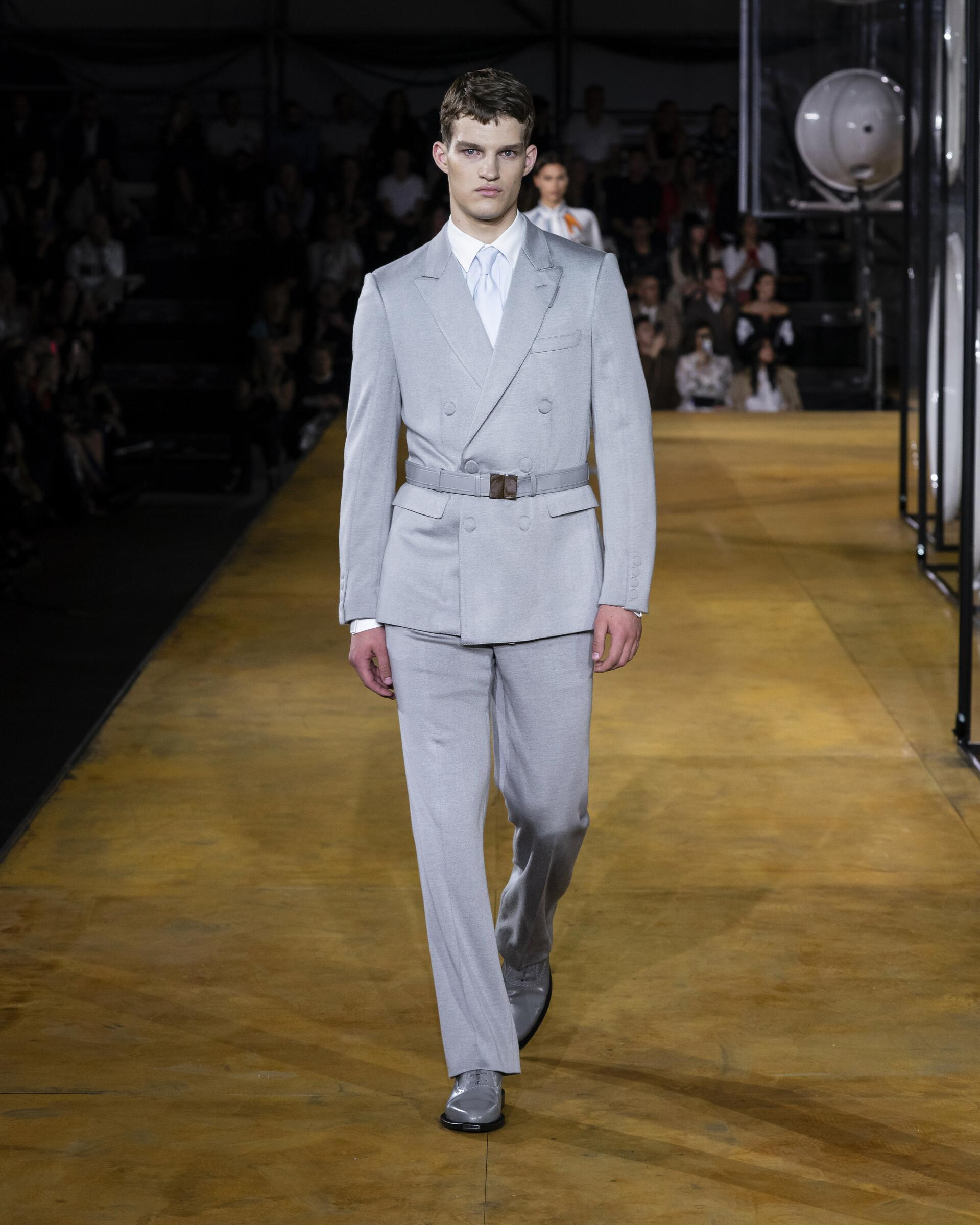 Burberry Man Catwalk