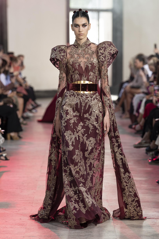 Catwalk Elie Saab Haute Couture Winter 2019-2020