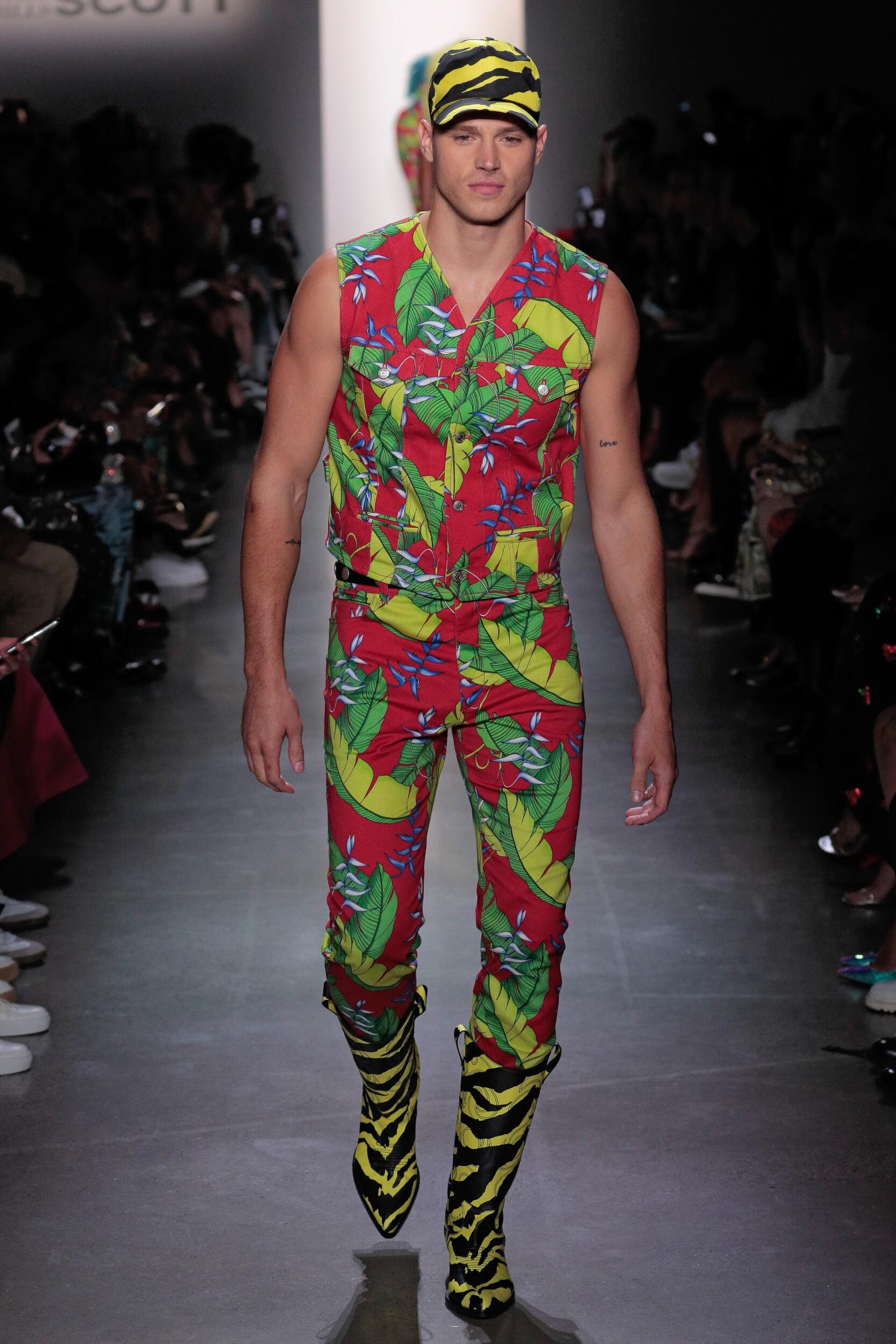 Catwalk Jeremy Scott Summer 2020