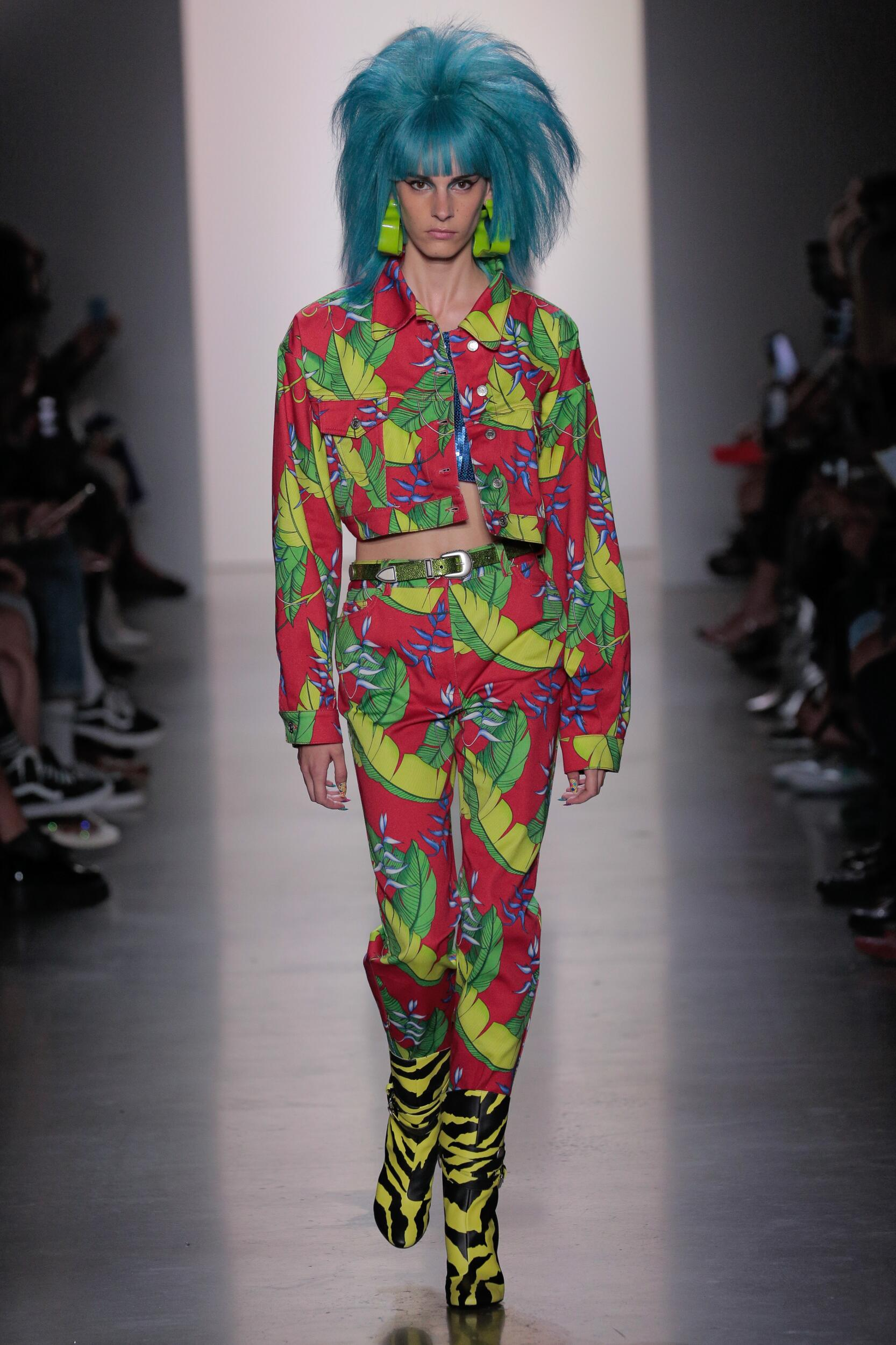 Catwalk Jeremy Scott