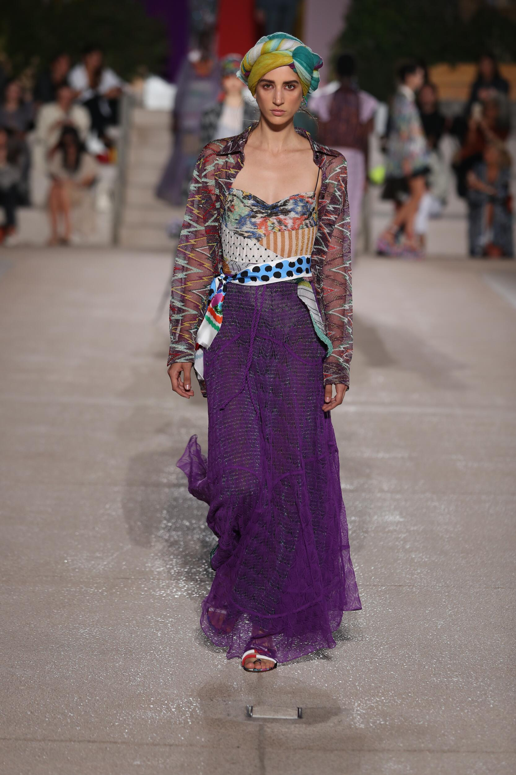 Catwalk Missoni Woman Fashion Show Summer 2020