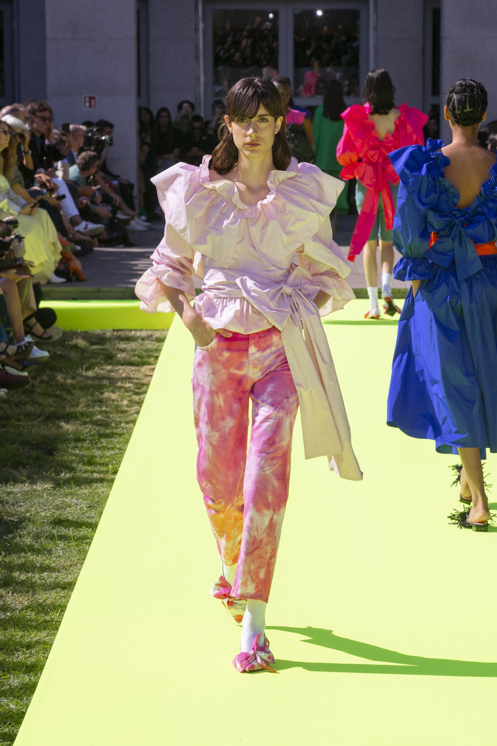 Catwalk Msgm Summer 2020