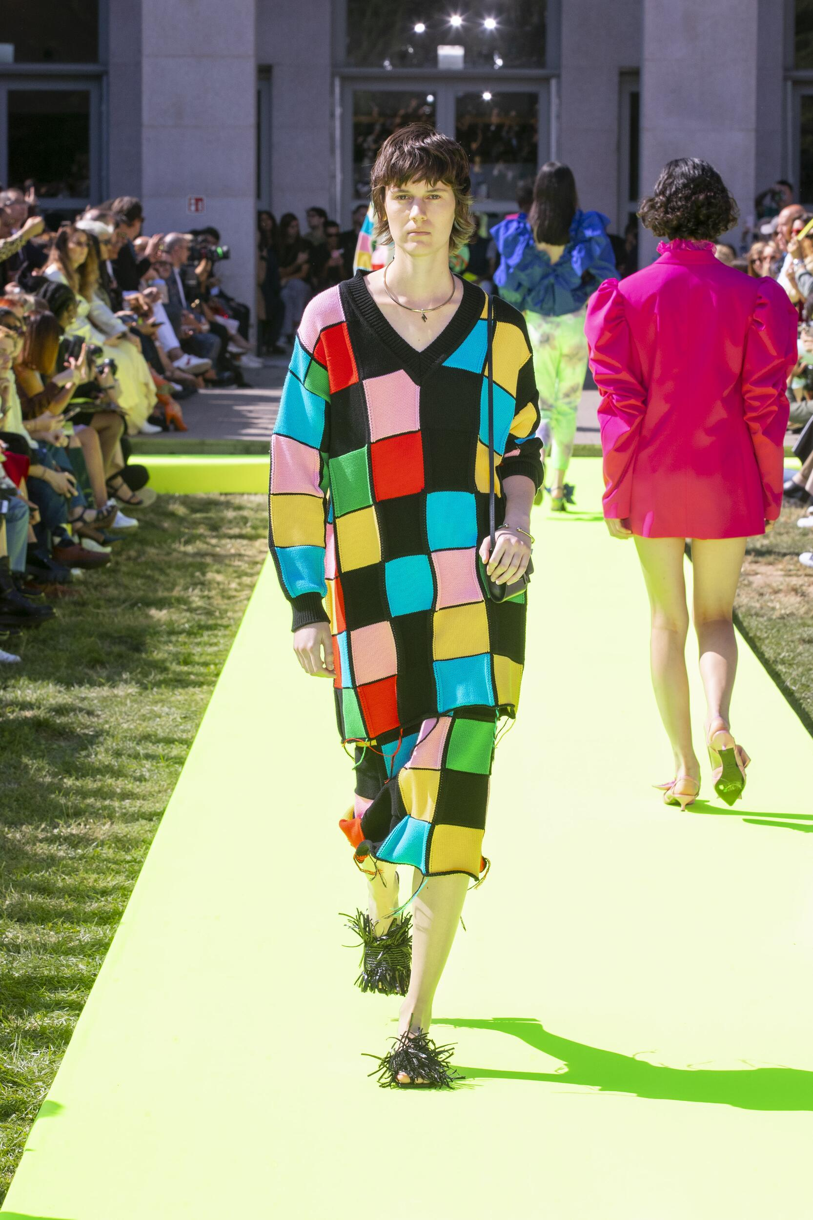 Catwalk Msgm Woman Fashion Show Summer 2020