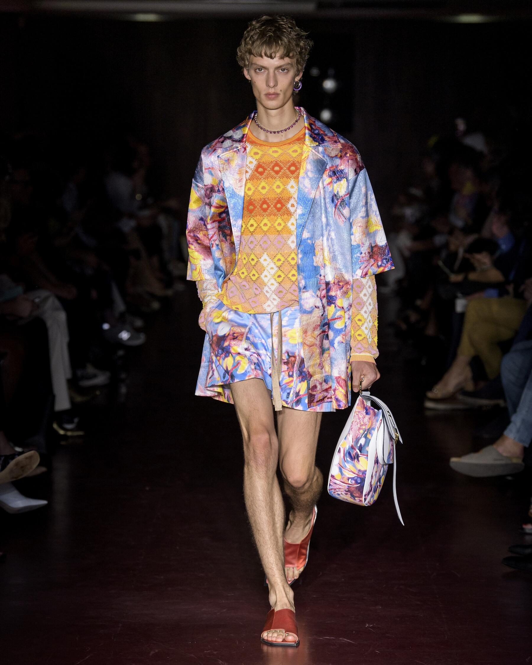 Catwalk Peter Pilotto Man Fashion Show Summer 2020