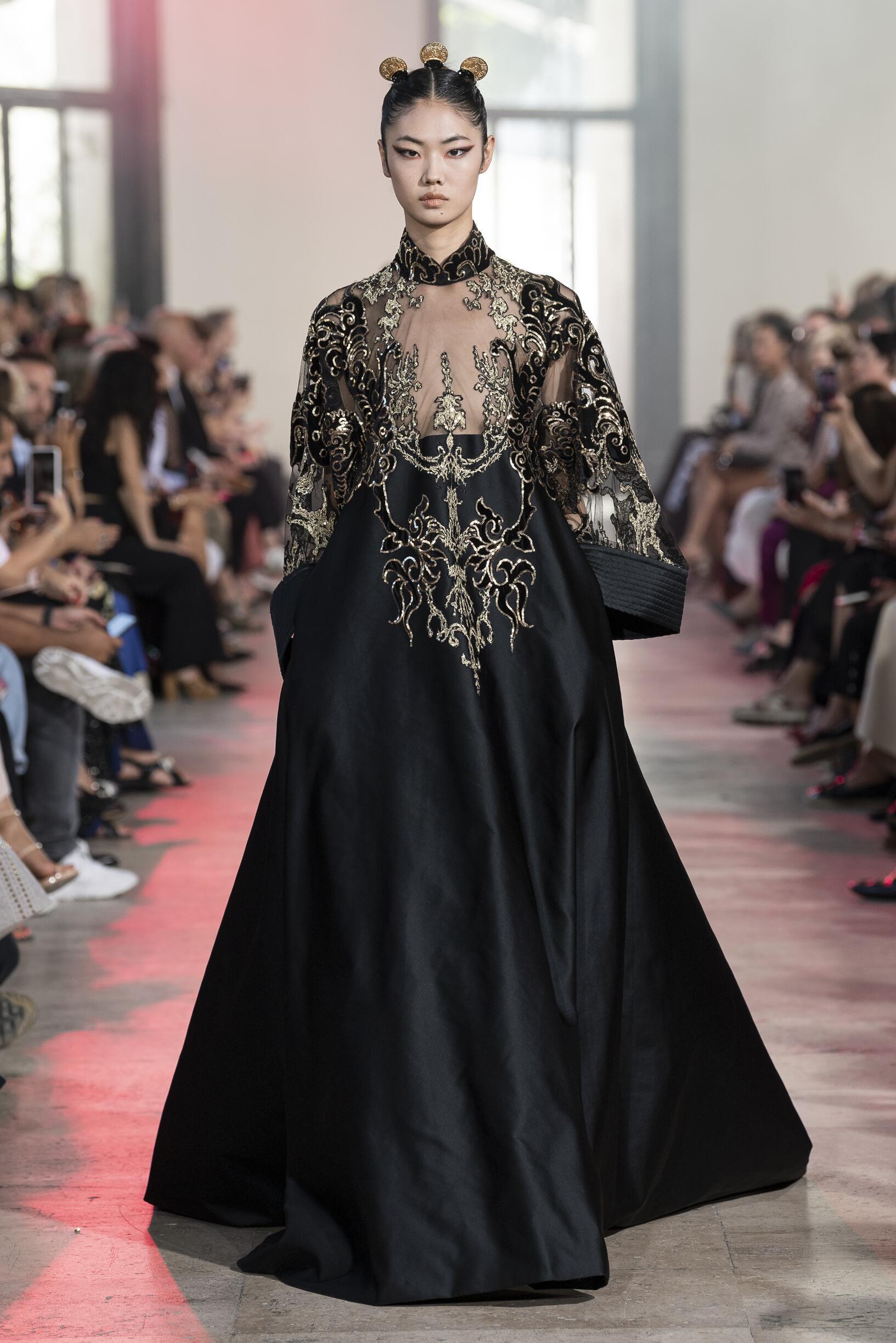 Elie Saab Haute Couture 2019 Paris Trends