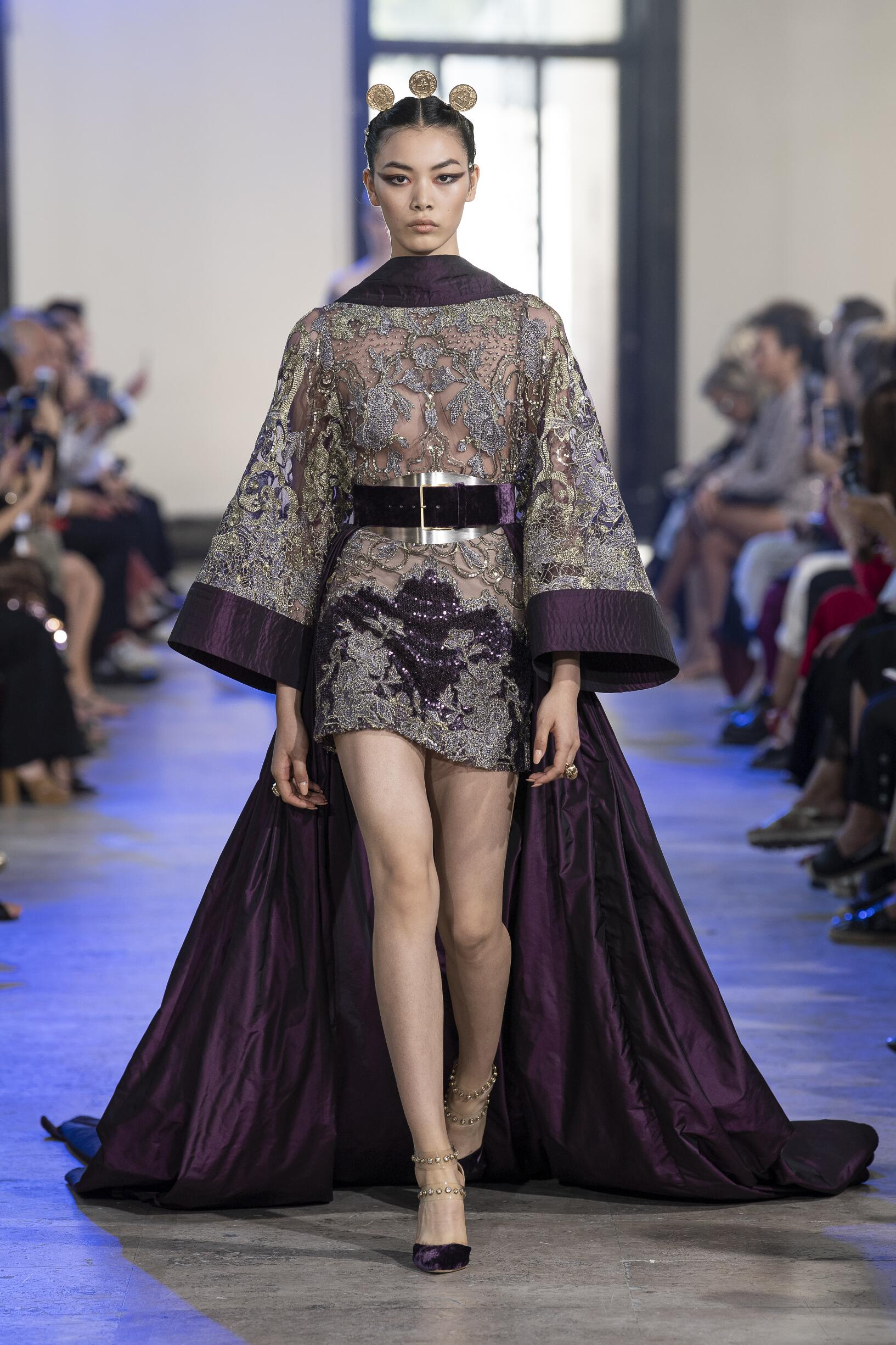 Elie Saab Haute Couture Fall Winter 2019-20 Womens Collection Paris